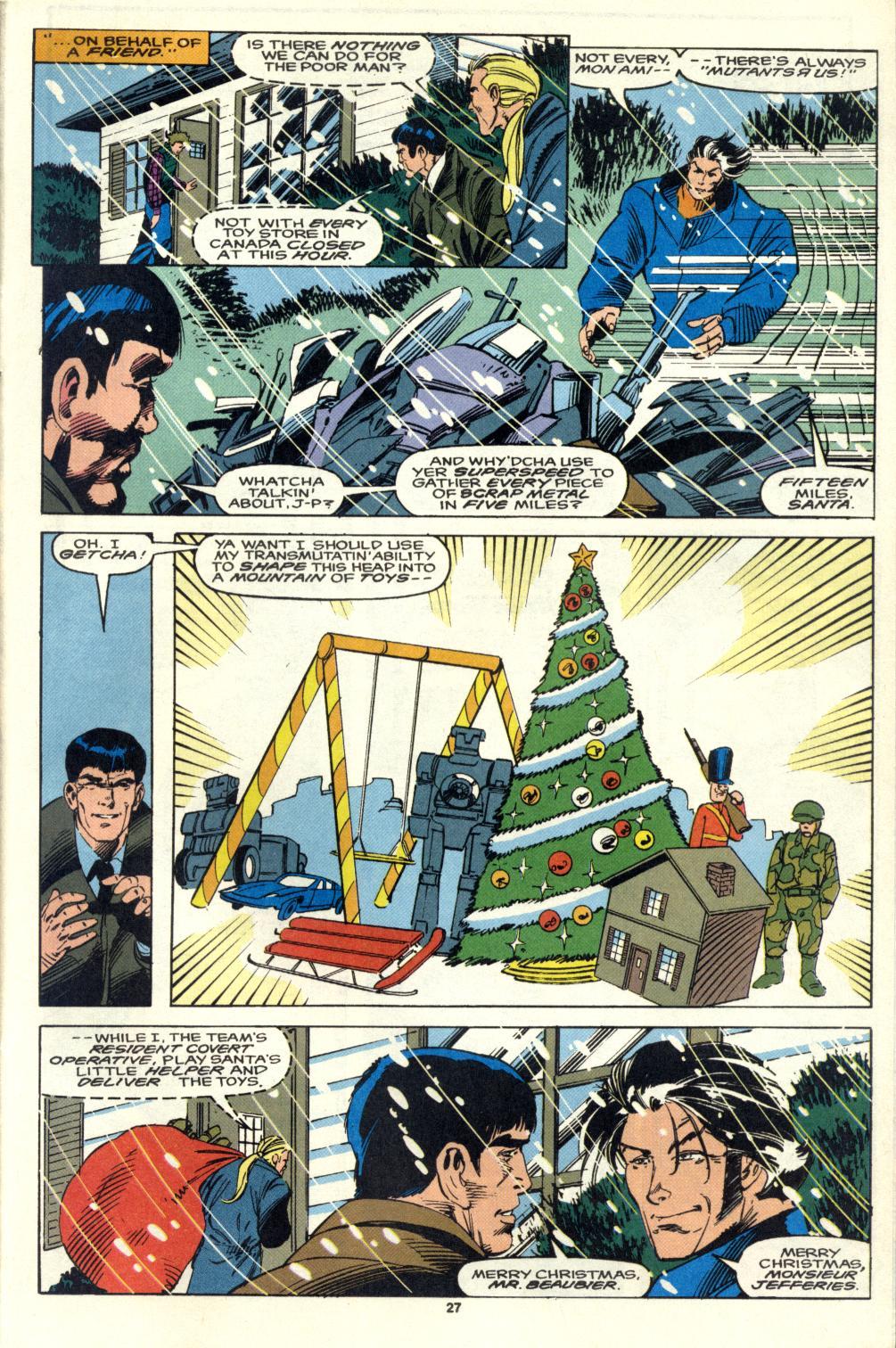 Read online Alpha Flight (1983) comic -  Issue #105 - 22