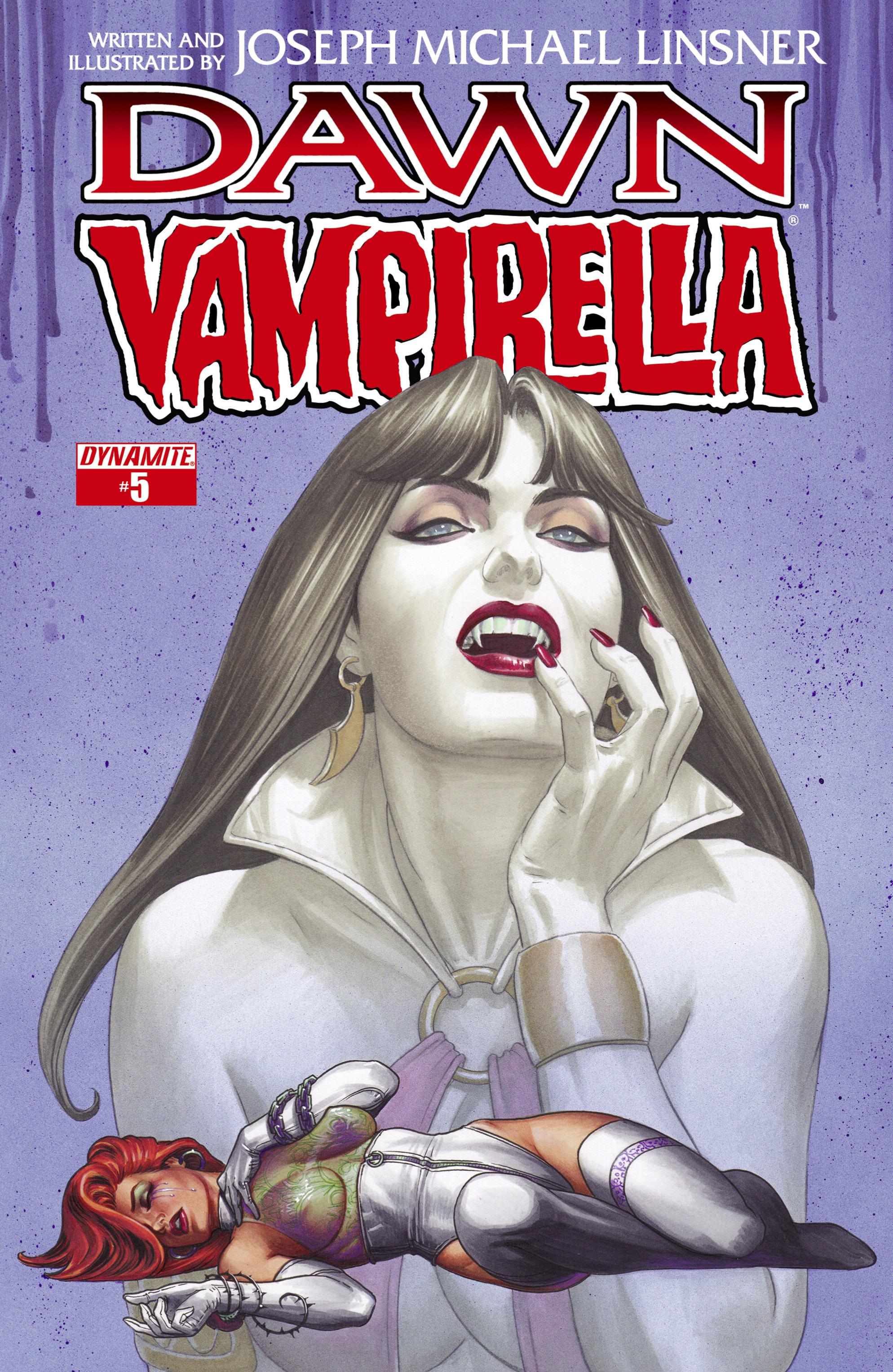 Dawn/Vampirella 5 Page 1
