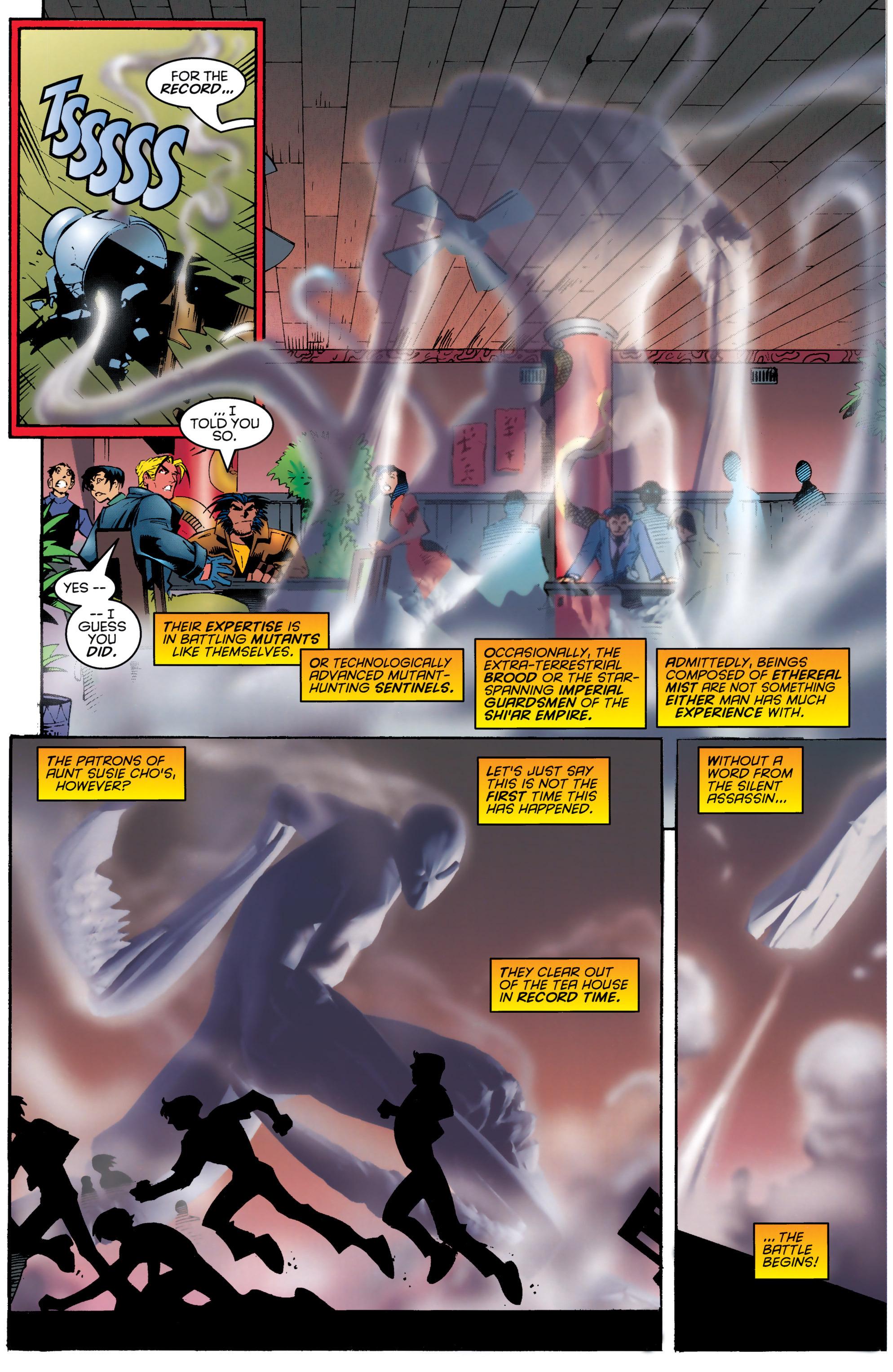 Read online Uncanny X-Men (1963) comic -  Issue #329 - 10