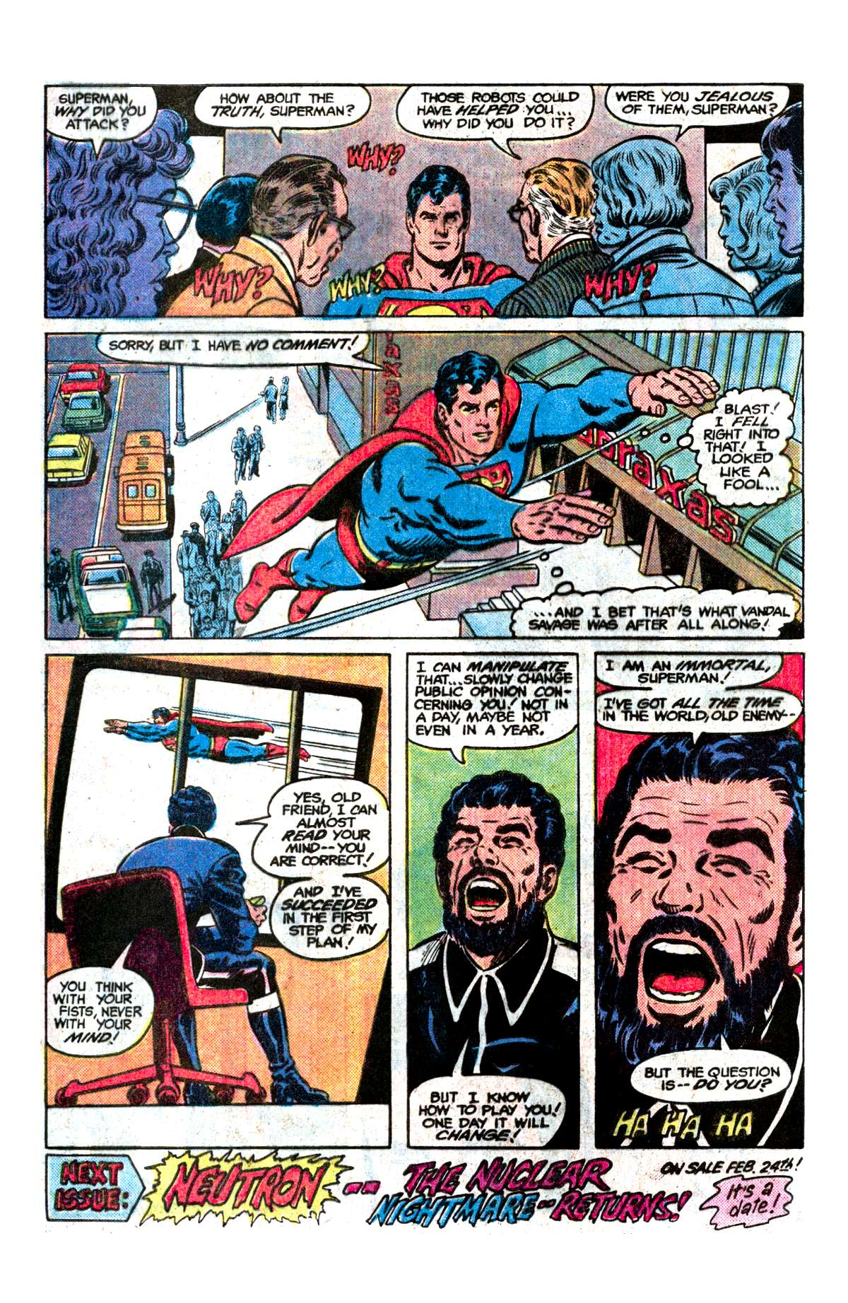 Read online Action Comics (1938) comic -  Issue #542 - 24