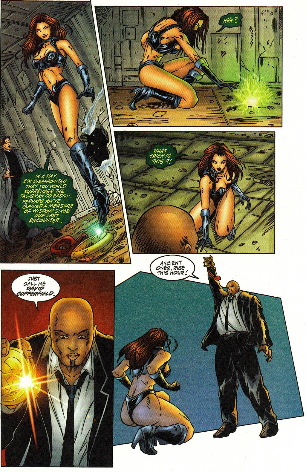 Read online Avengelyne (1996) comic -  Issue #12 - 18