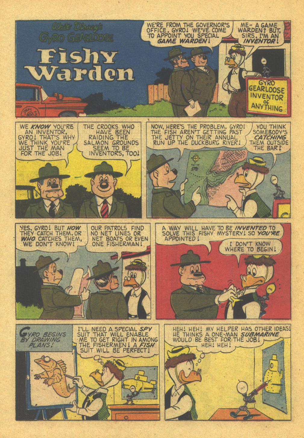 Read online Uncle Scrooge (1953) comic -  Issue #31 - 20
