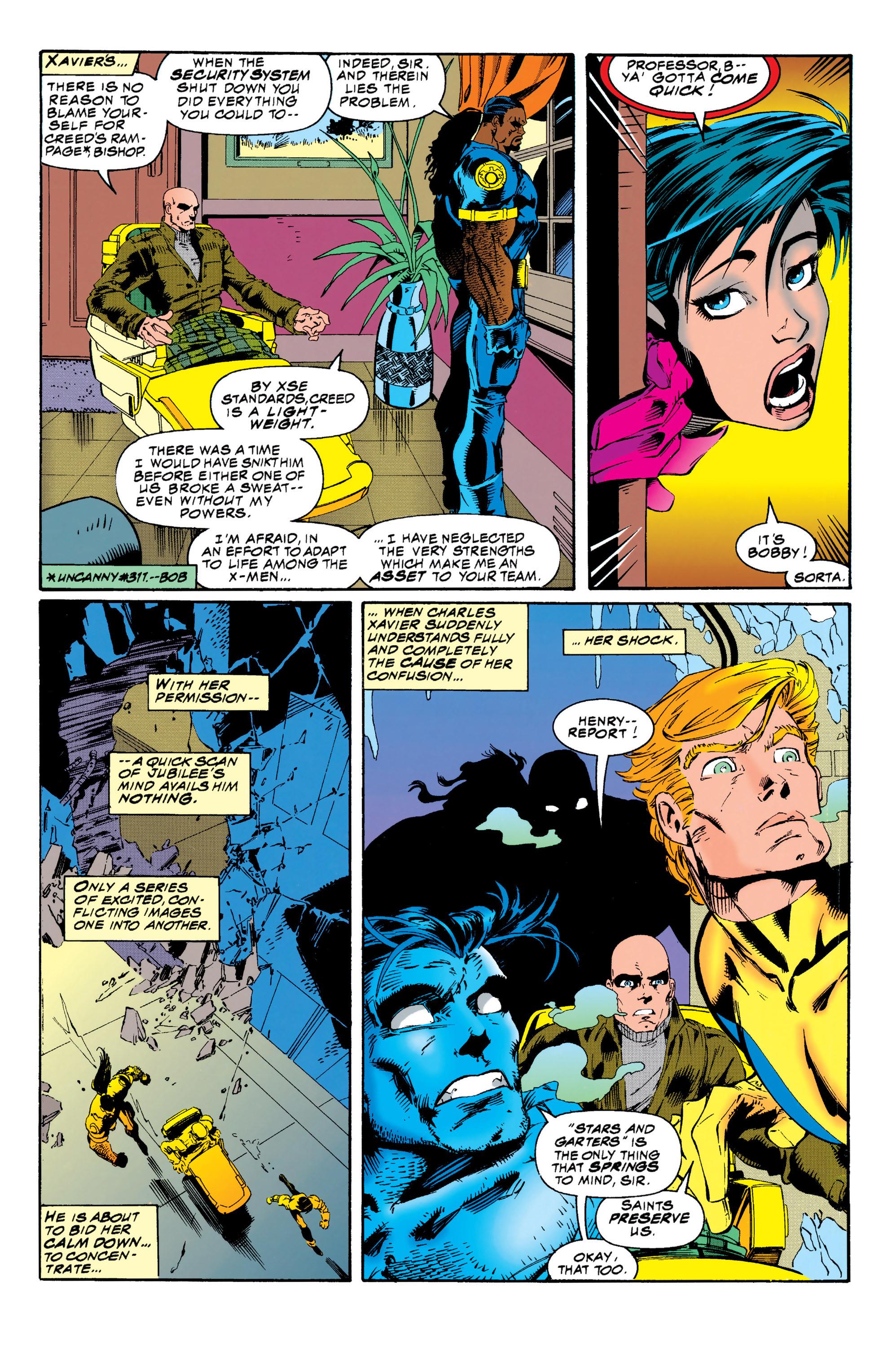 Read online Uncanny X-Men (1963) comic -  Issue #313 - 22