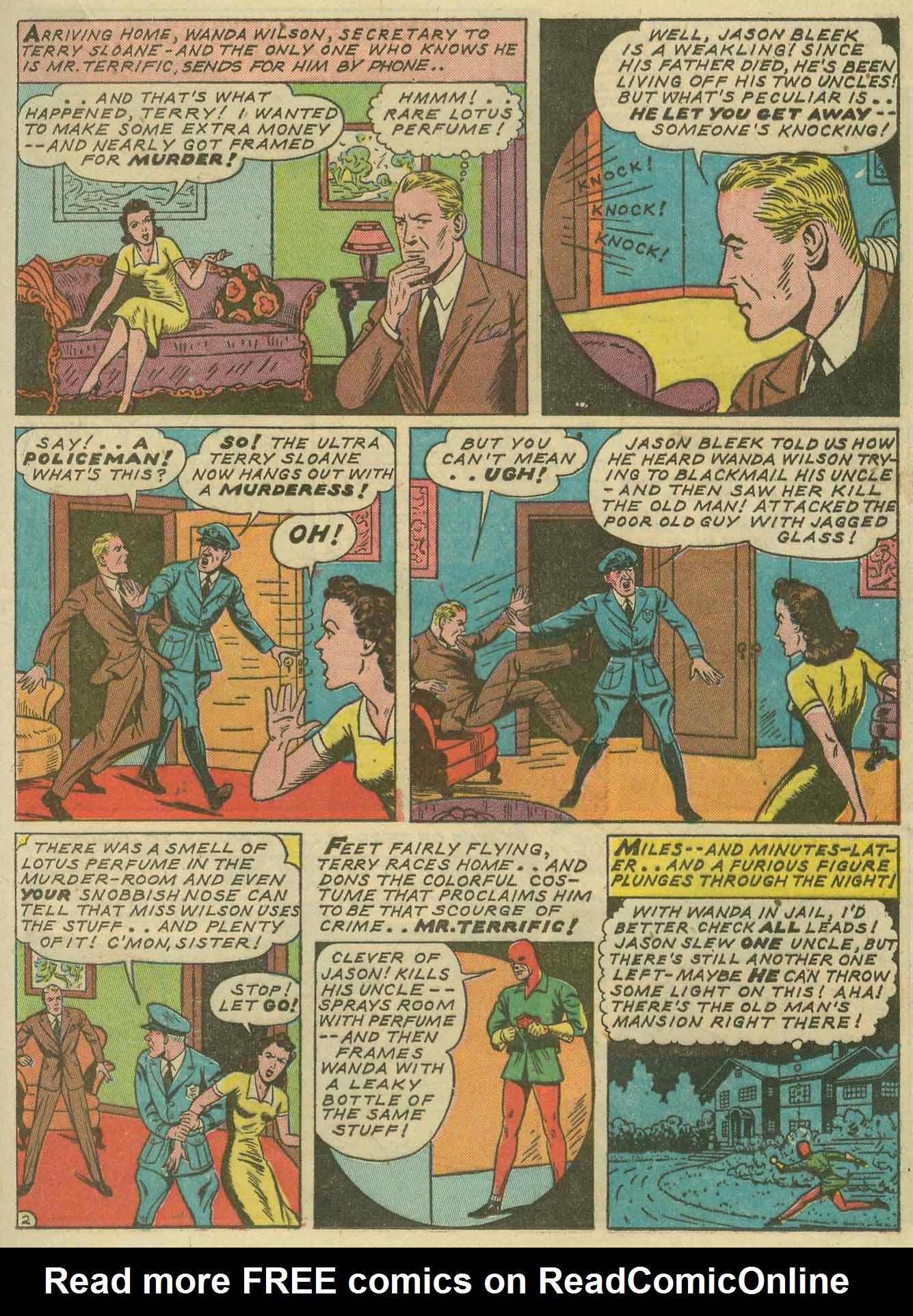 Read online Sensation (Mystery) Comics comic -  Issue #14 - 39