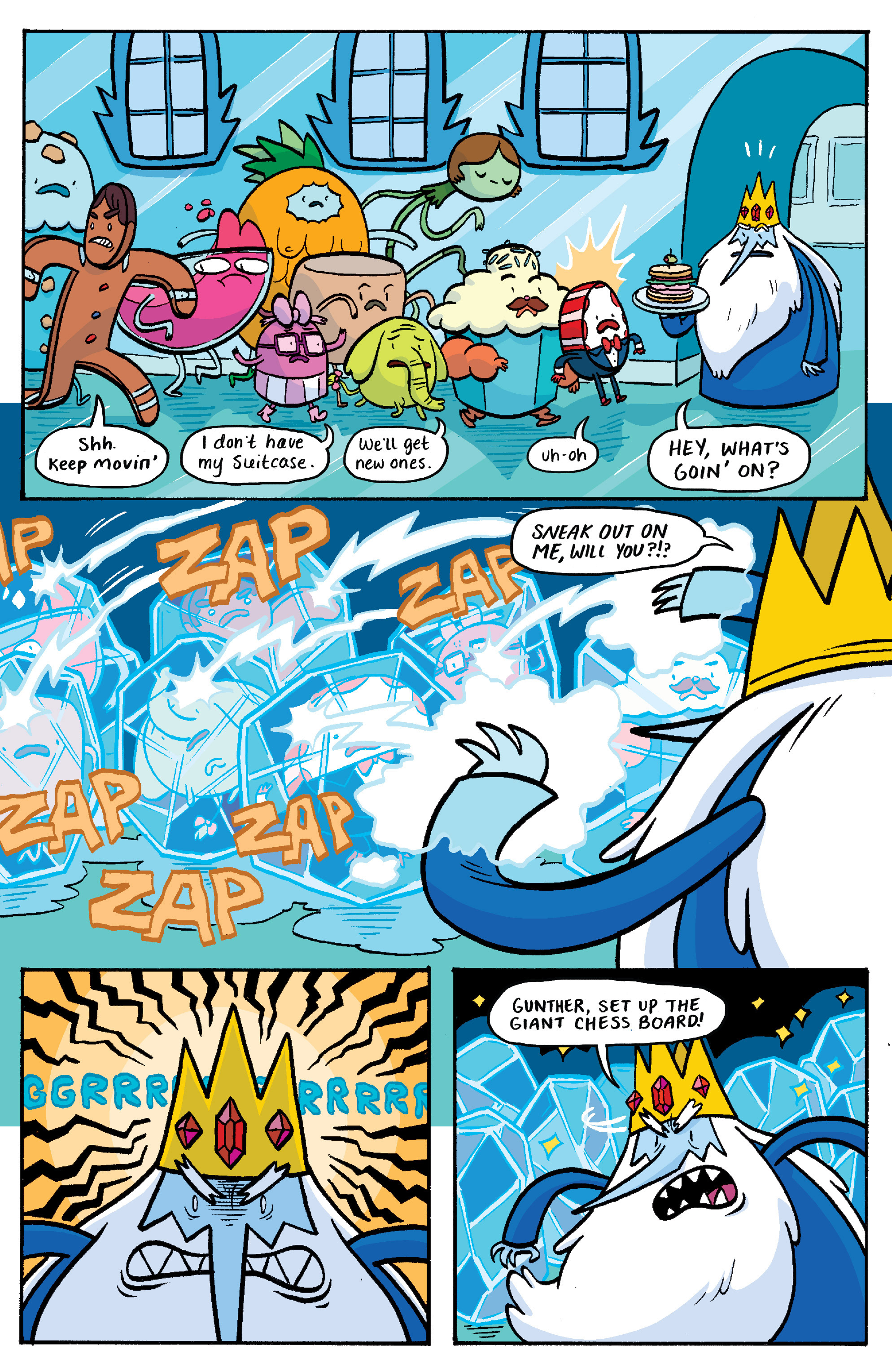 Read online Adventure Time: Banana Guard Academ comic -  Issue #3 - 16