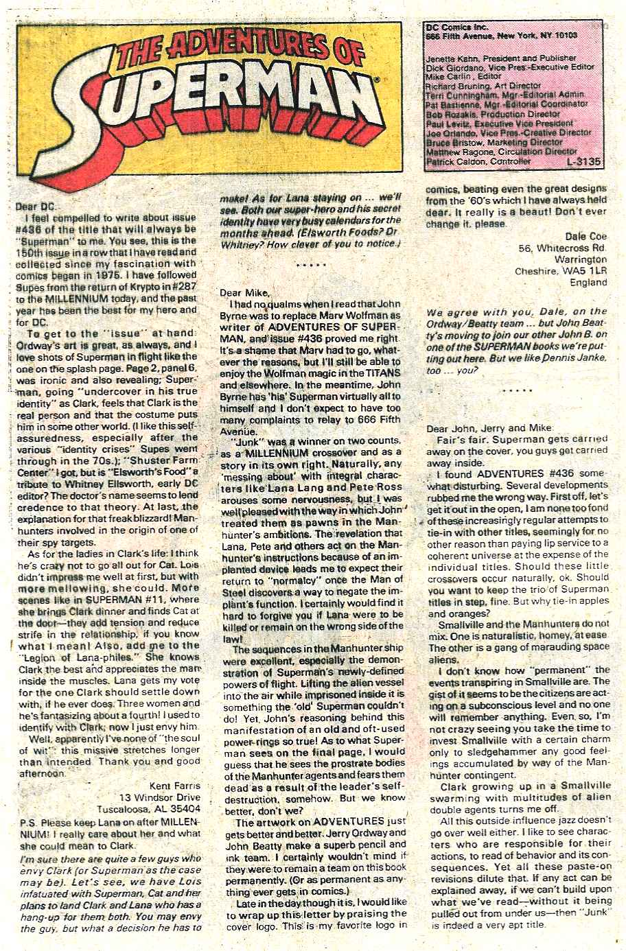 Read online Adventures of Superman (1987) comic -  Issue #440 - 23