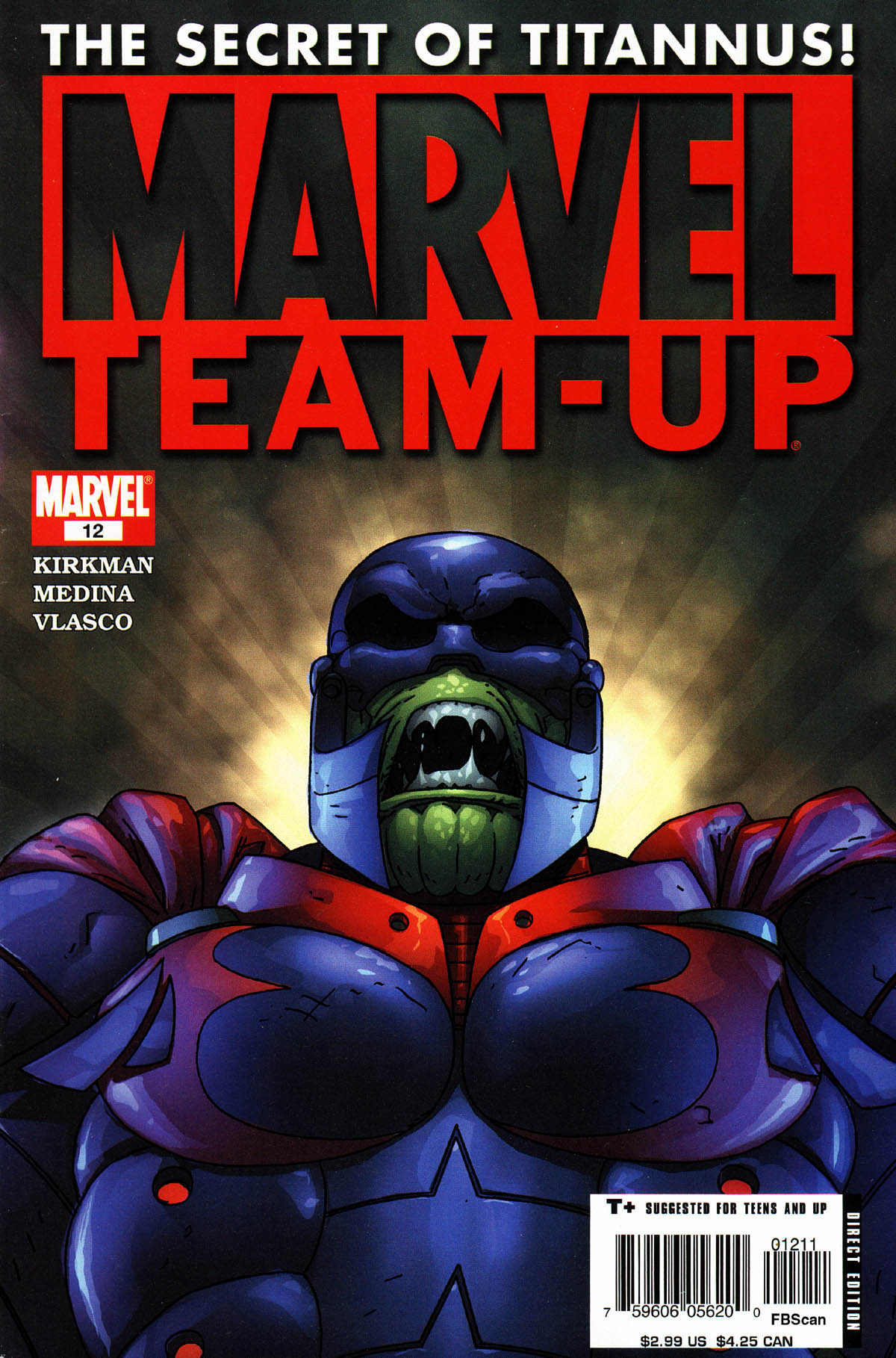 Marvel Team-Up (2004) 12 Page 1