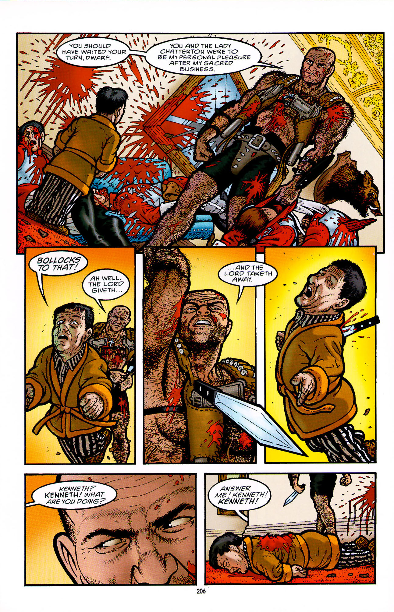 Read online Heart of Empire comic -  Issue #7 - 12