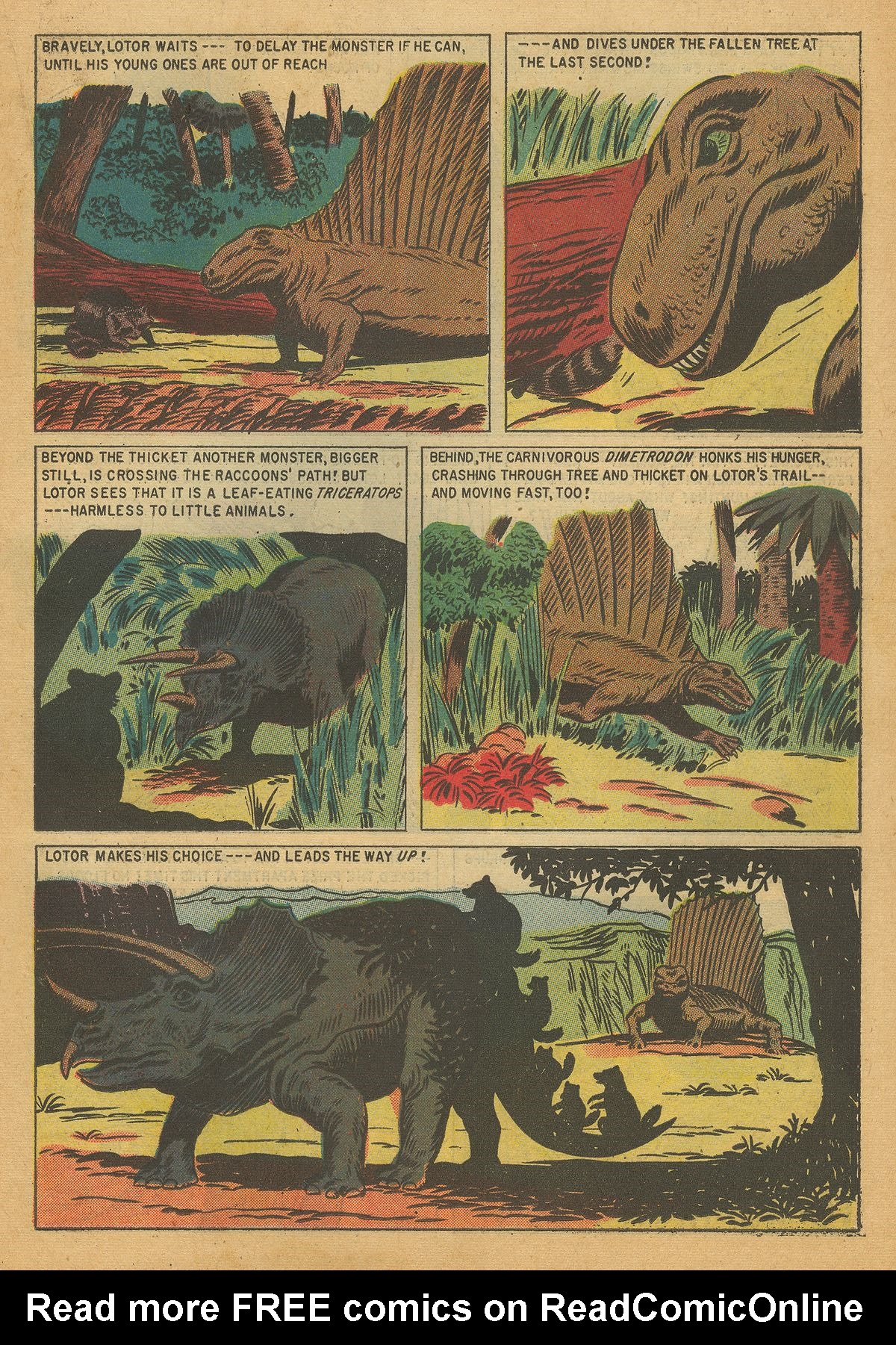 Read online Turok, Son of Stone comic -  Issue #7 - 19