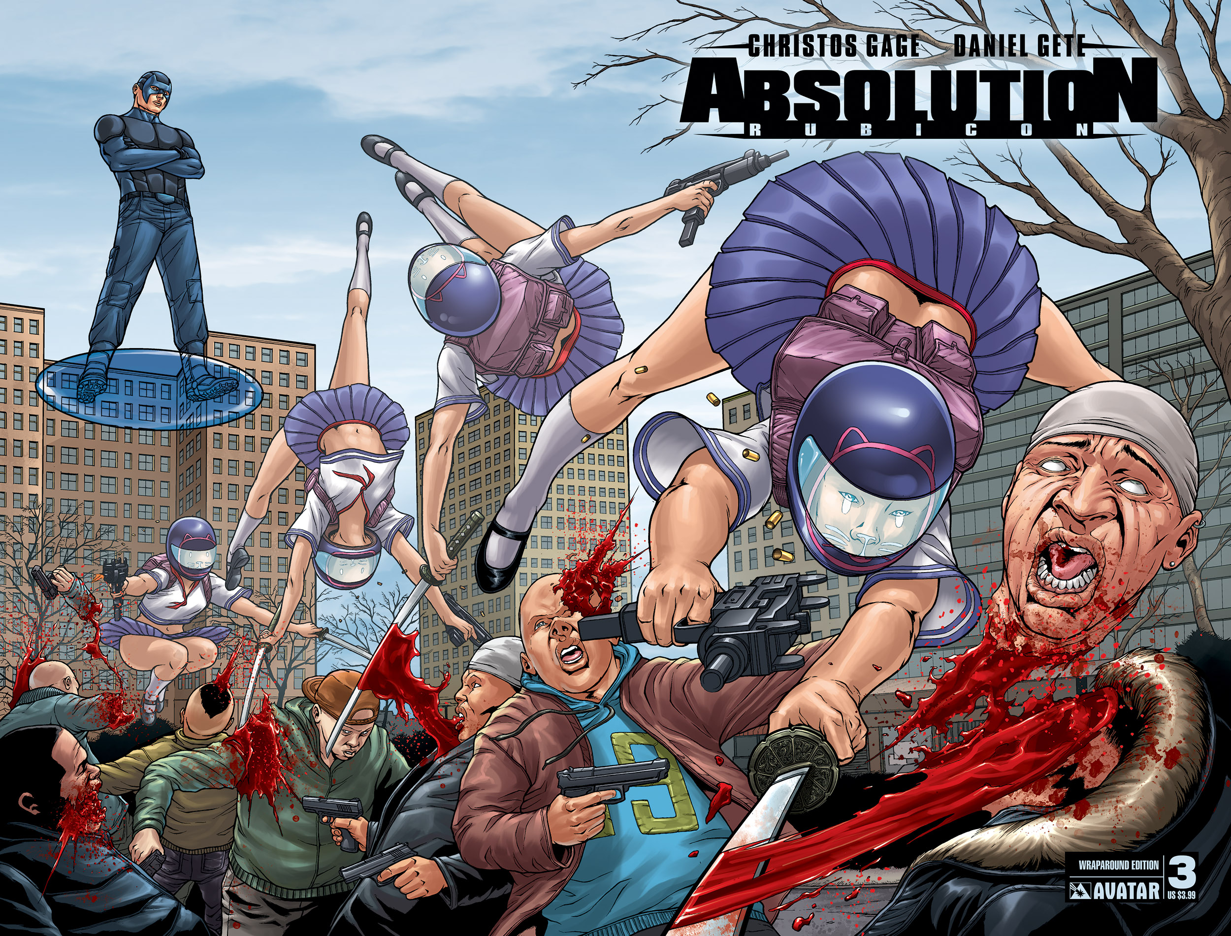 Read online Absolution: Rubicon comic -  Issue #3 - 5