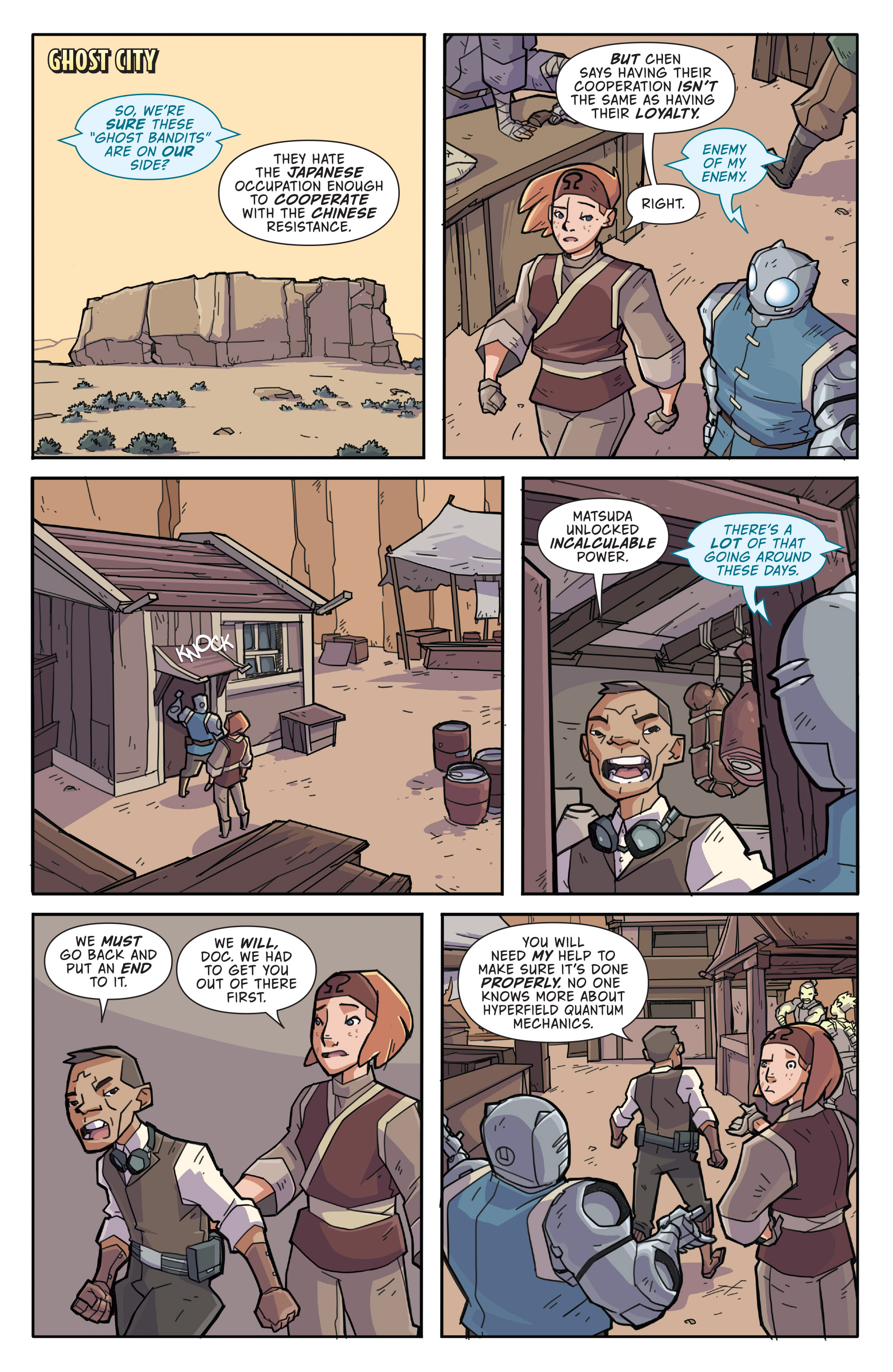 Read online Atomic Robo and the Temple of Od comic -  Issue #3 - 7