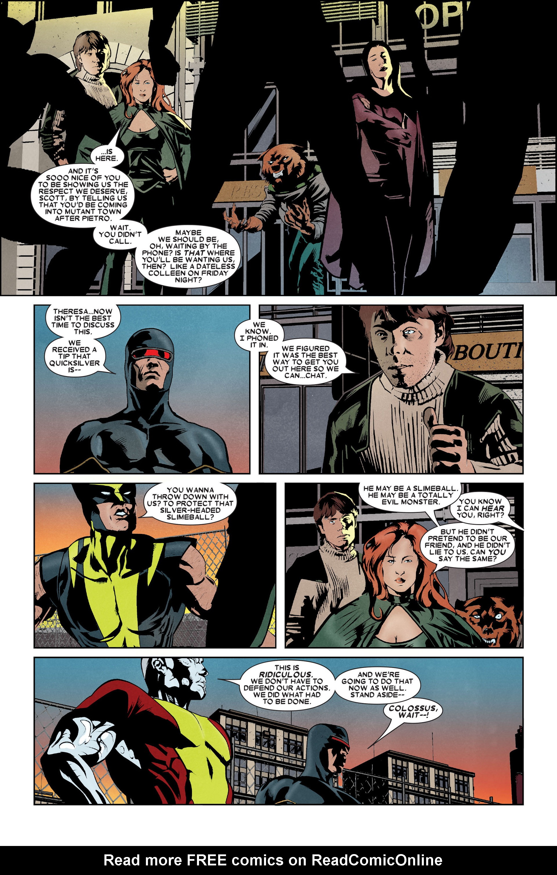 Read online X-Factor (2006) comic -  Issue #9 - 19