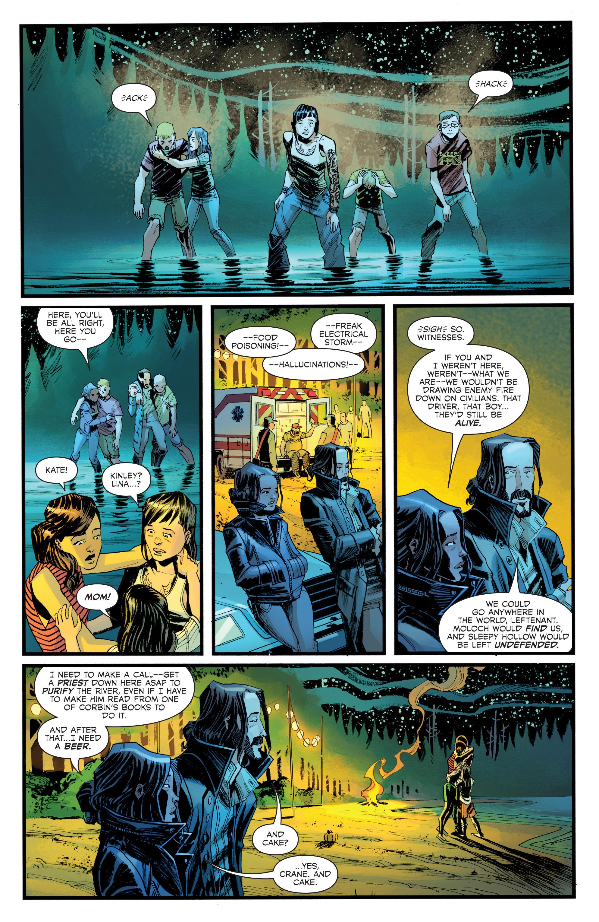 Read online Sleepy Hollow (2014) comic -  Issue #1 - 21