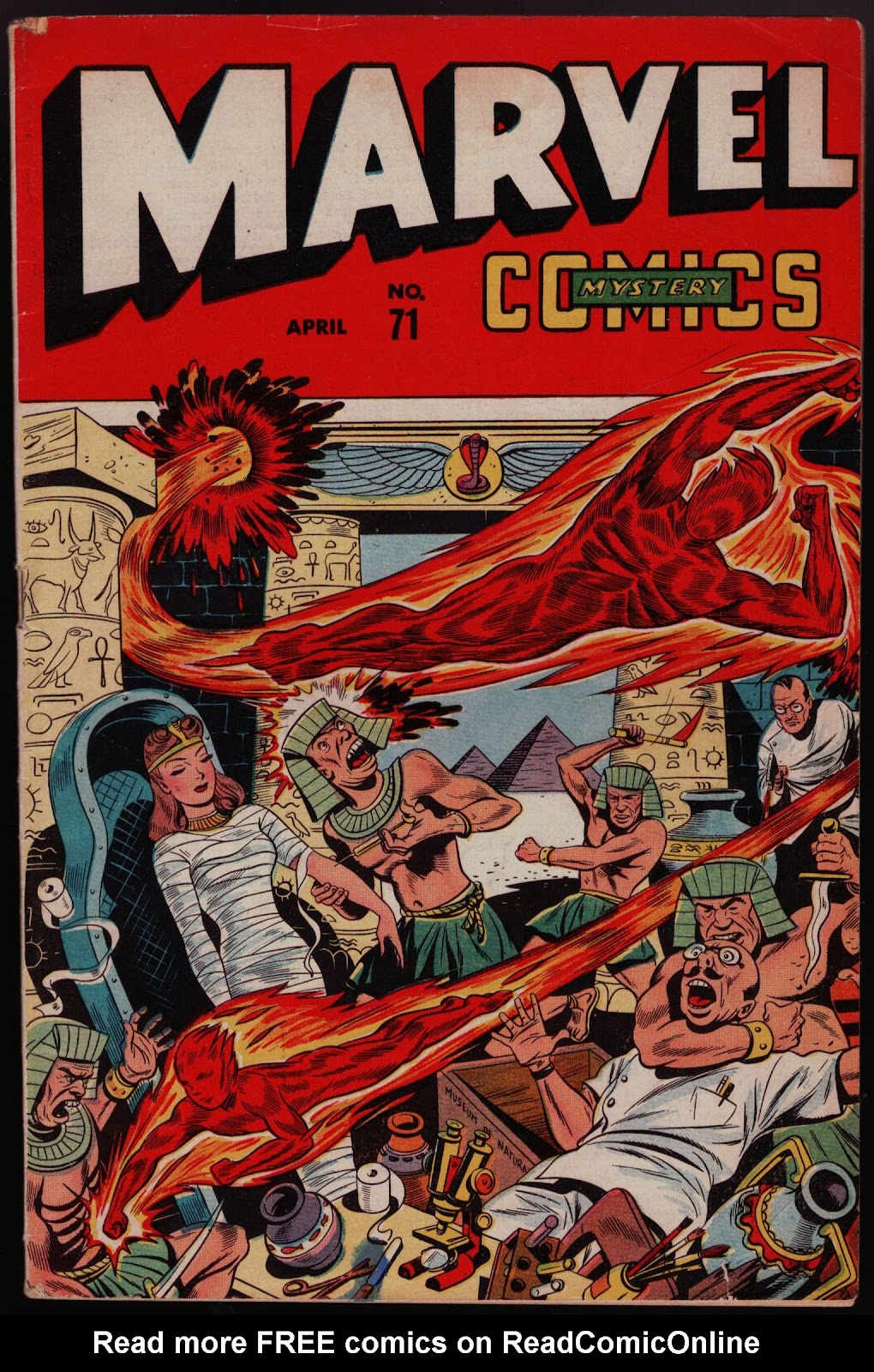 Marvel Mystery Comics 71 Page 1