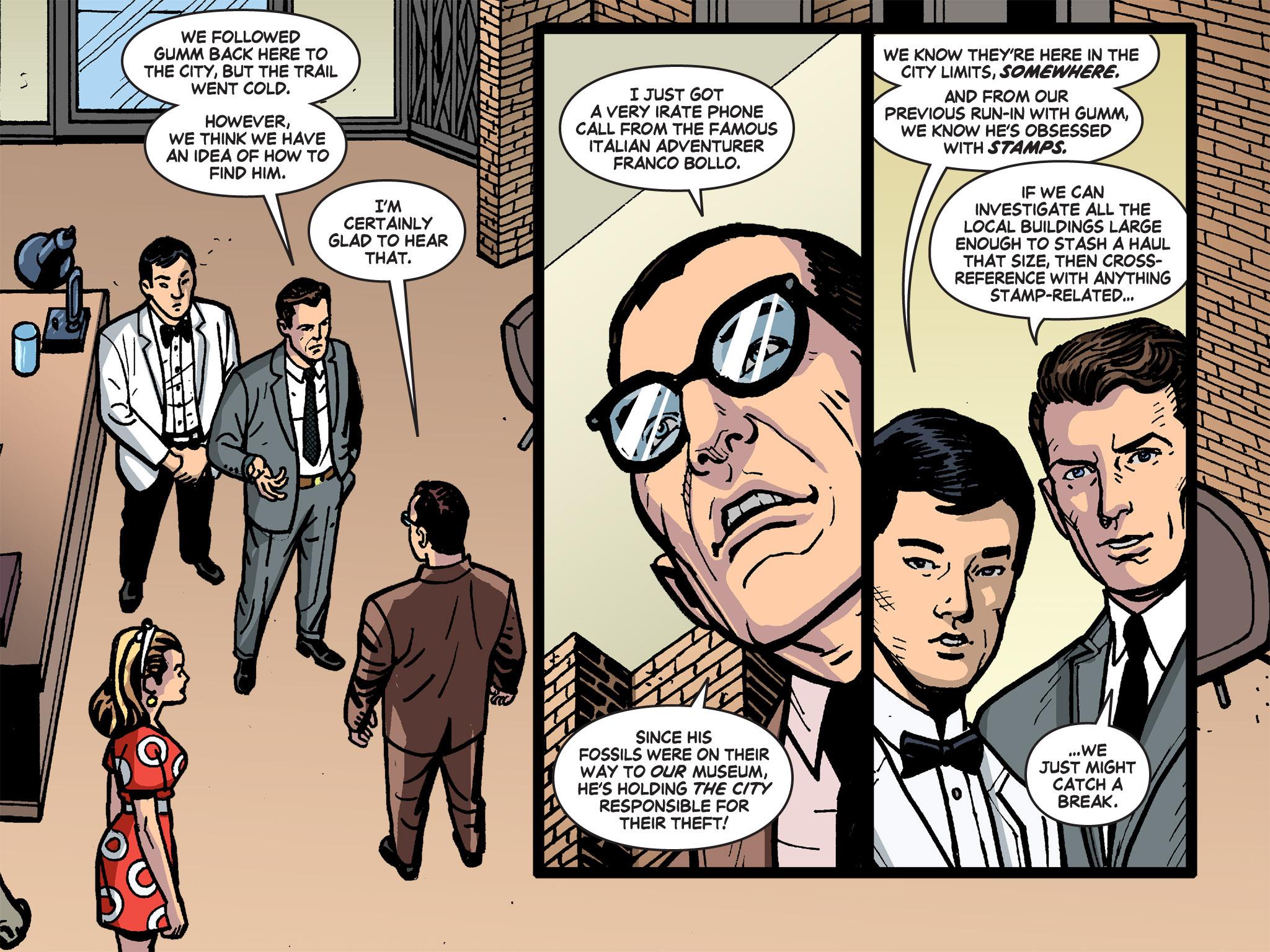 Read online Batman '66 Meets the Green Hornet [II] comic -  Issue #4 - 56