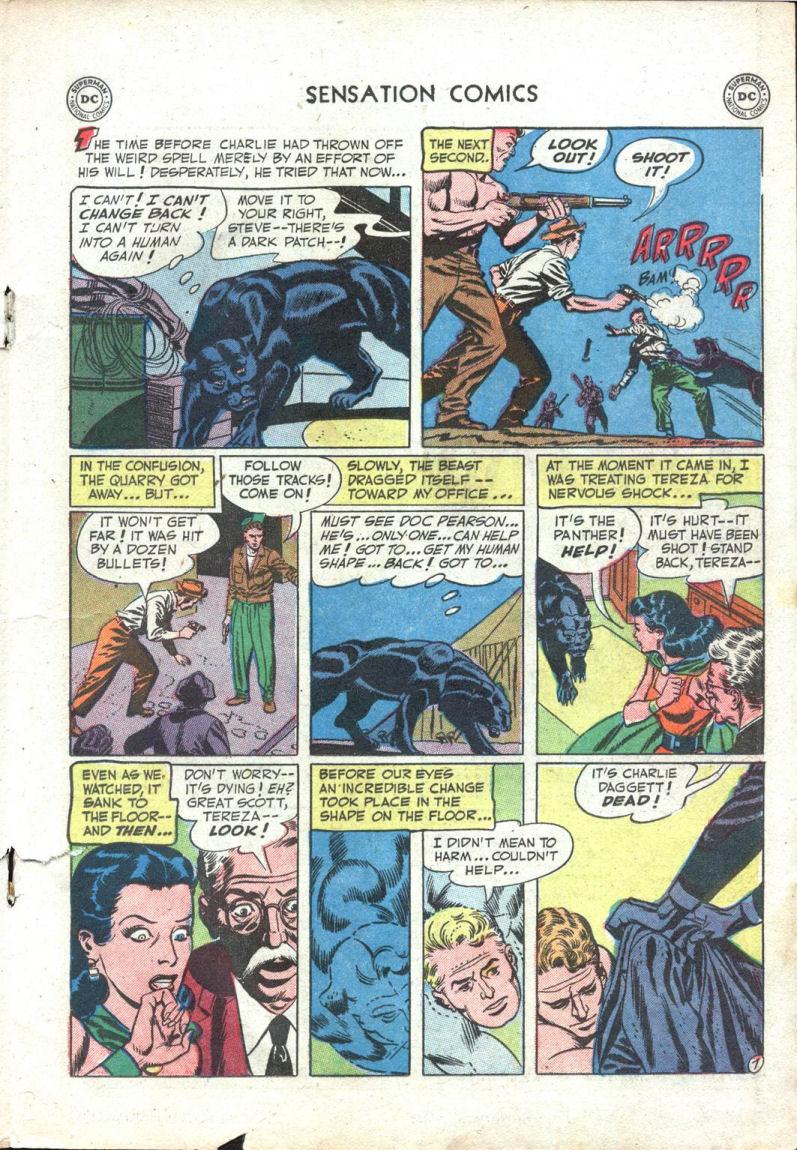 Read online Sensation (Mystery) Comics comic -  Issue #109 - 19