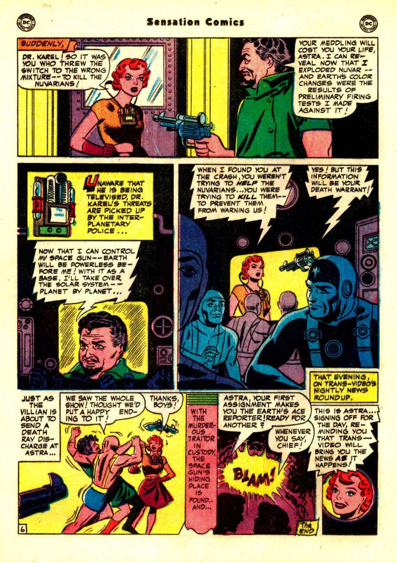 Read online Sensation (Mystery) Comics comic -  Issue #99 - 34