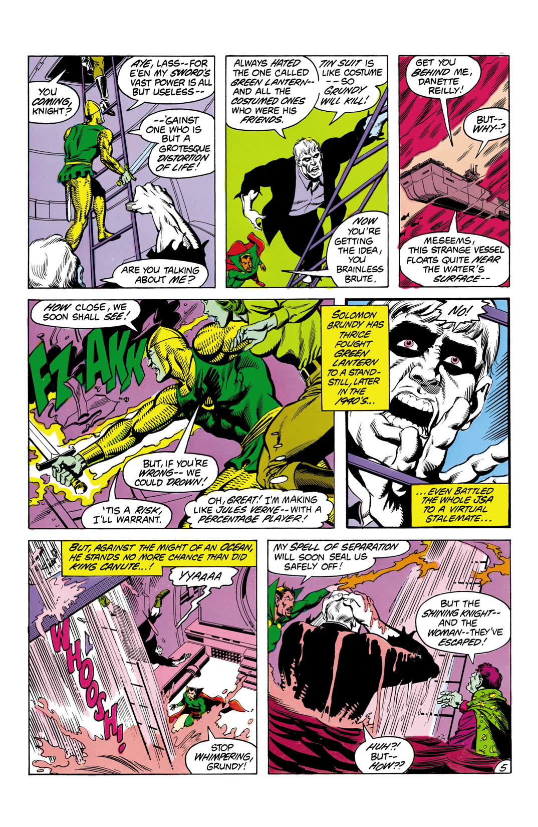 Read online All-Star Squadron comic -  Issue #3 - 6