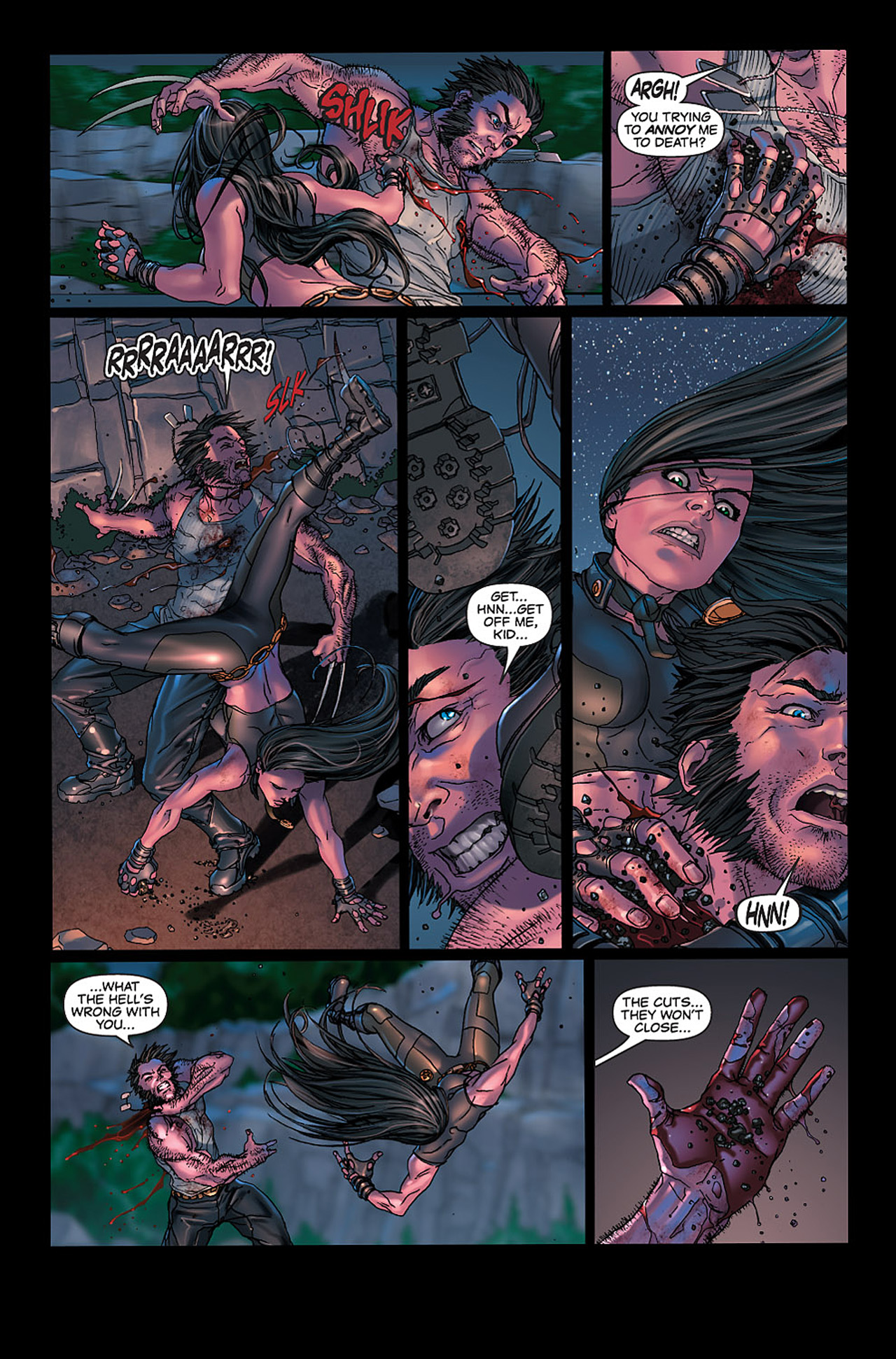 Read online X-23: Target X comic -  Issue #6 - 11