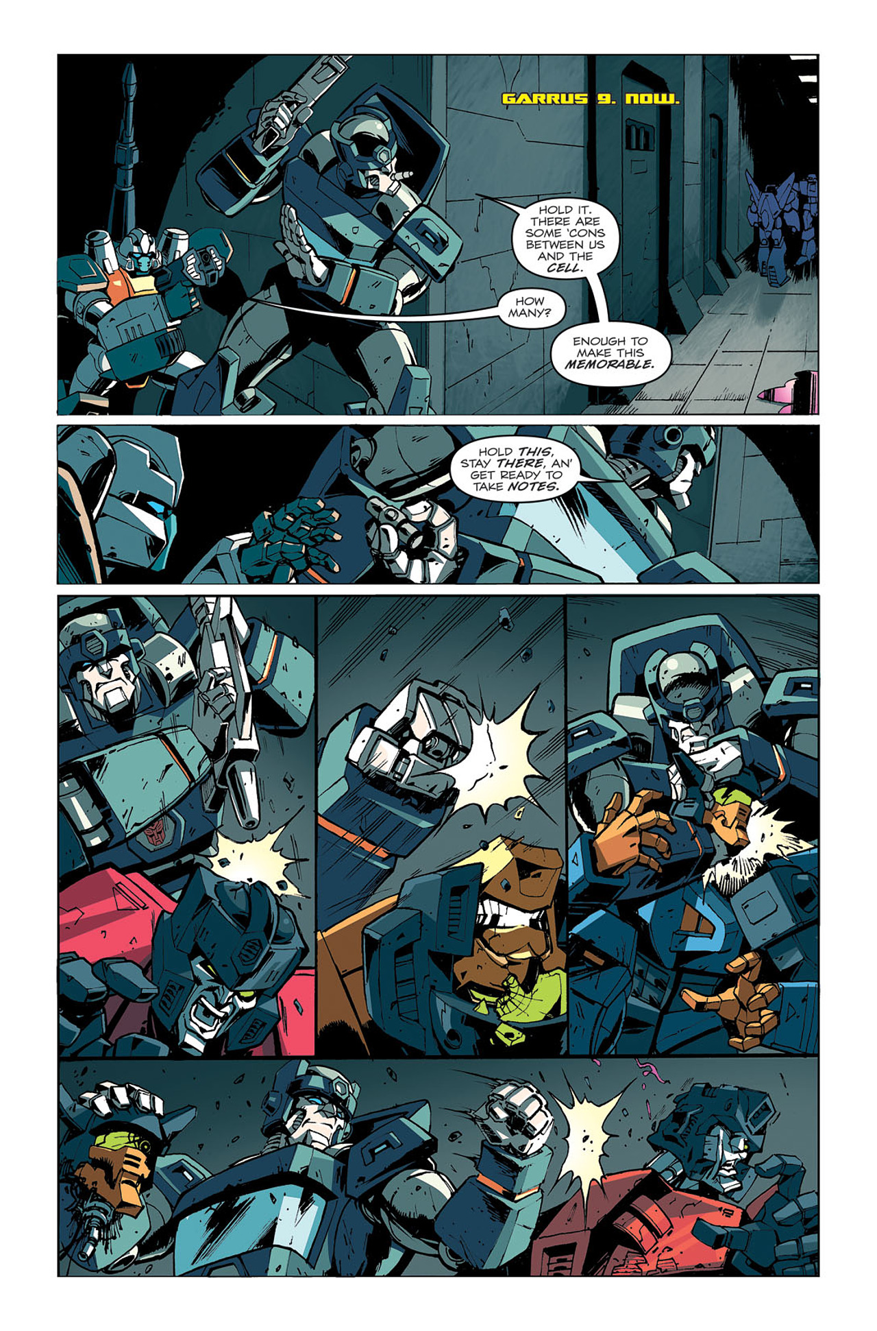 Read online Transformers: Last Stand of The Wreckers comic -  Issue #4 - 5