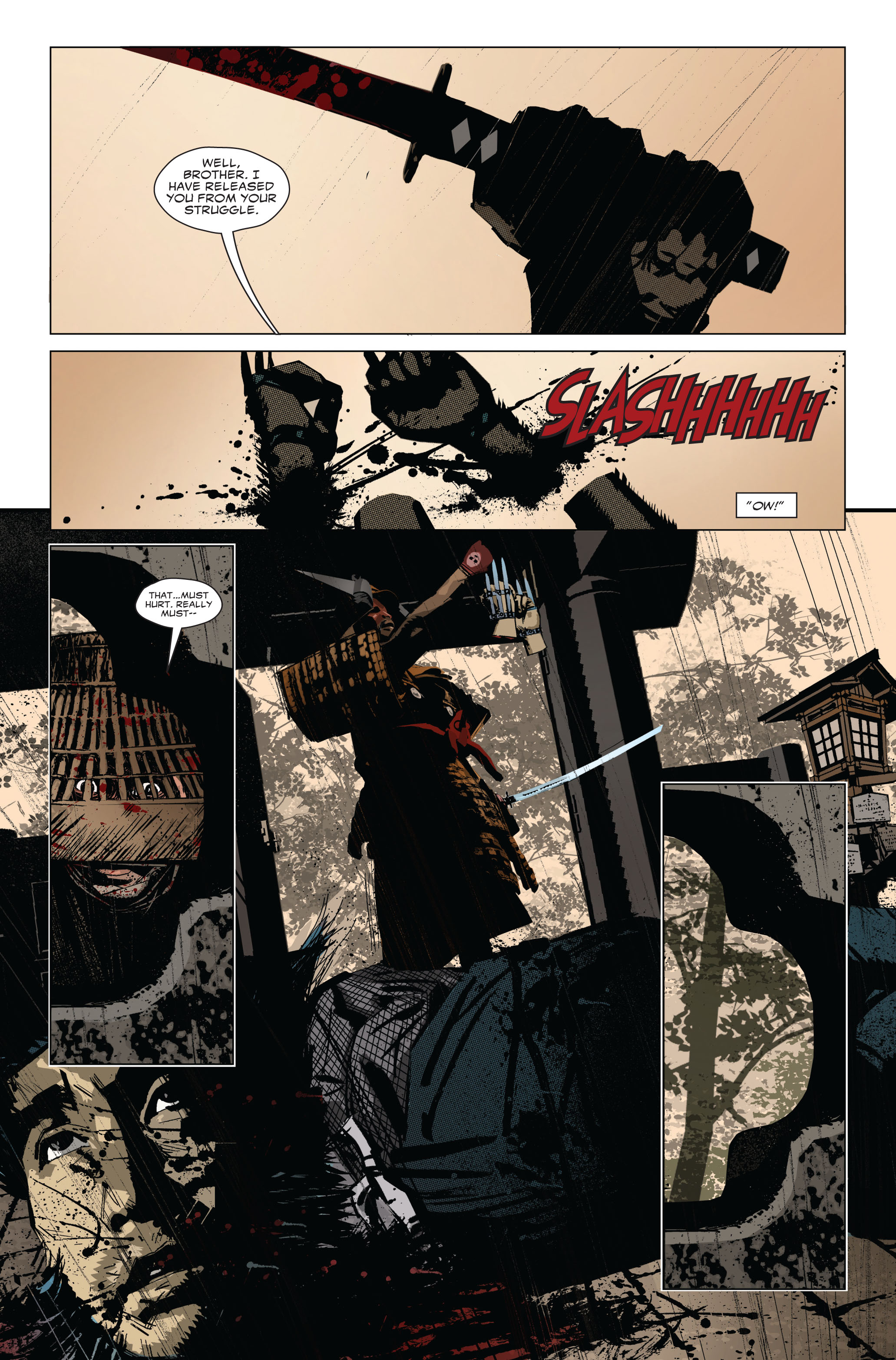 Read online 5 Ronin (2011) comic -  Issue #1 - 9
