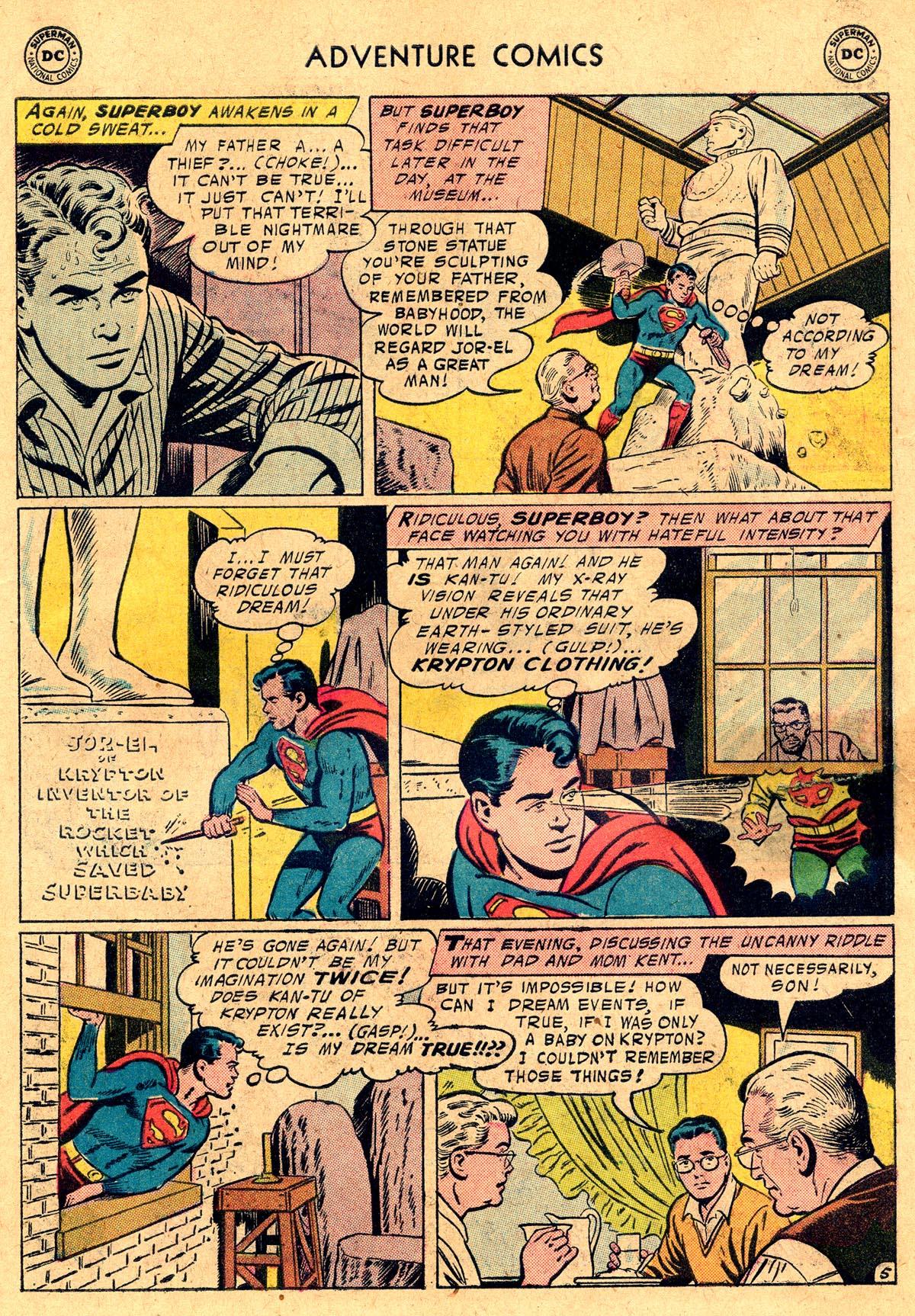 Read online Adventure Comics (1938) comic -  Issue #238 - 7