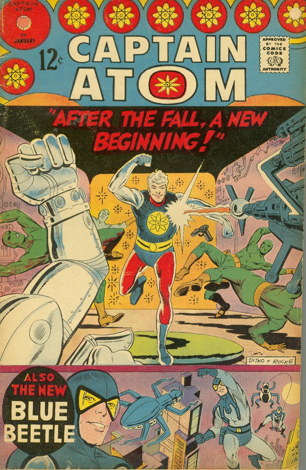 Captain Atom (1965) 84 Page 1