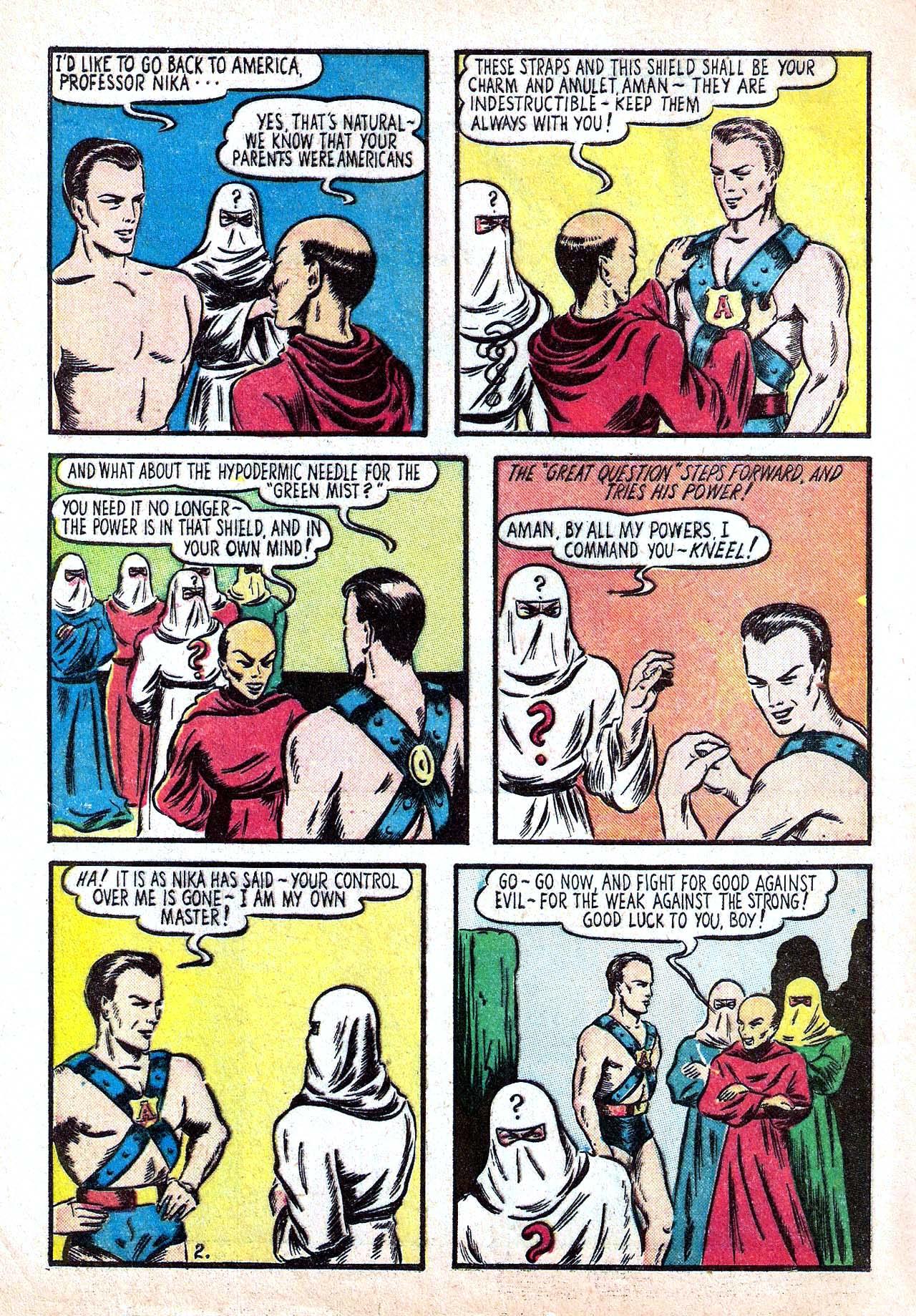 Read online Amazing Man Comics comic -  Issue #11 - 4