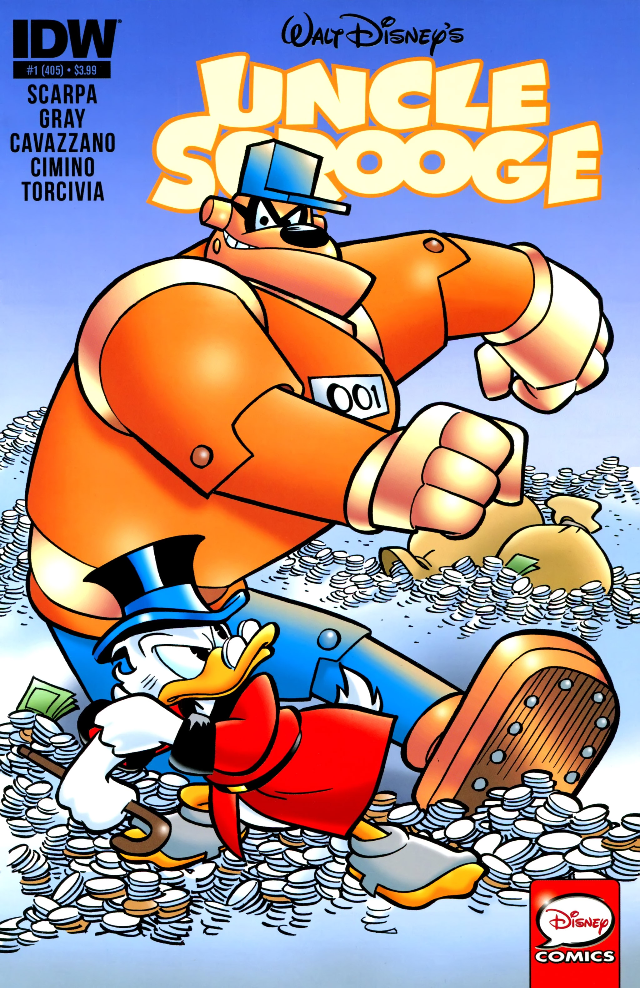 Read online Uncle Scrooge (2015) comic -  Issue #1 - 1