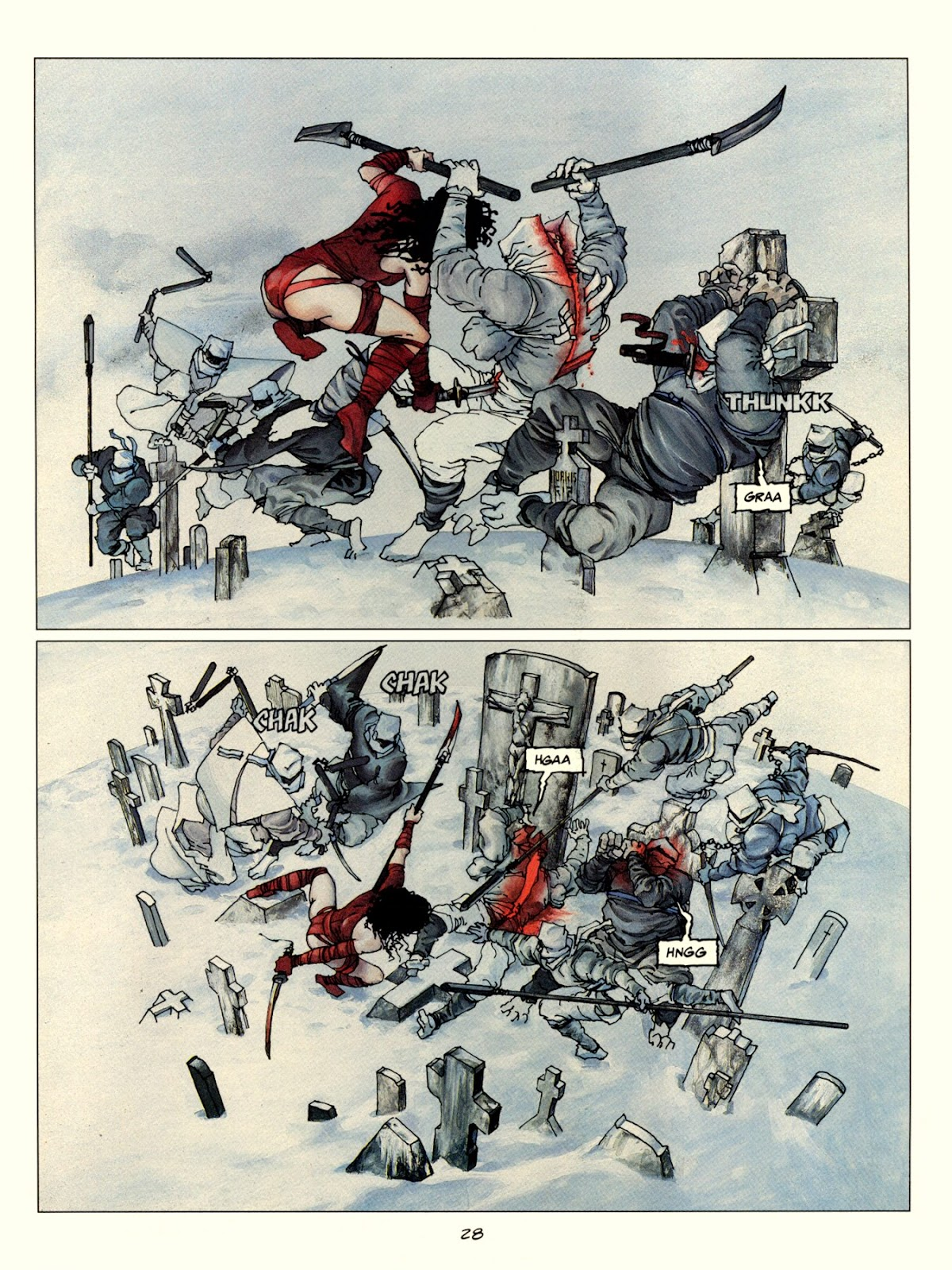 Elektra Lives Again issue Full - Page 35