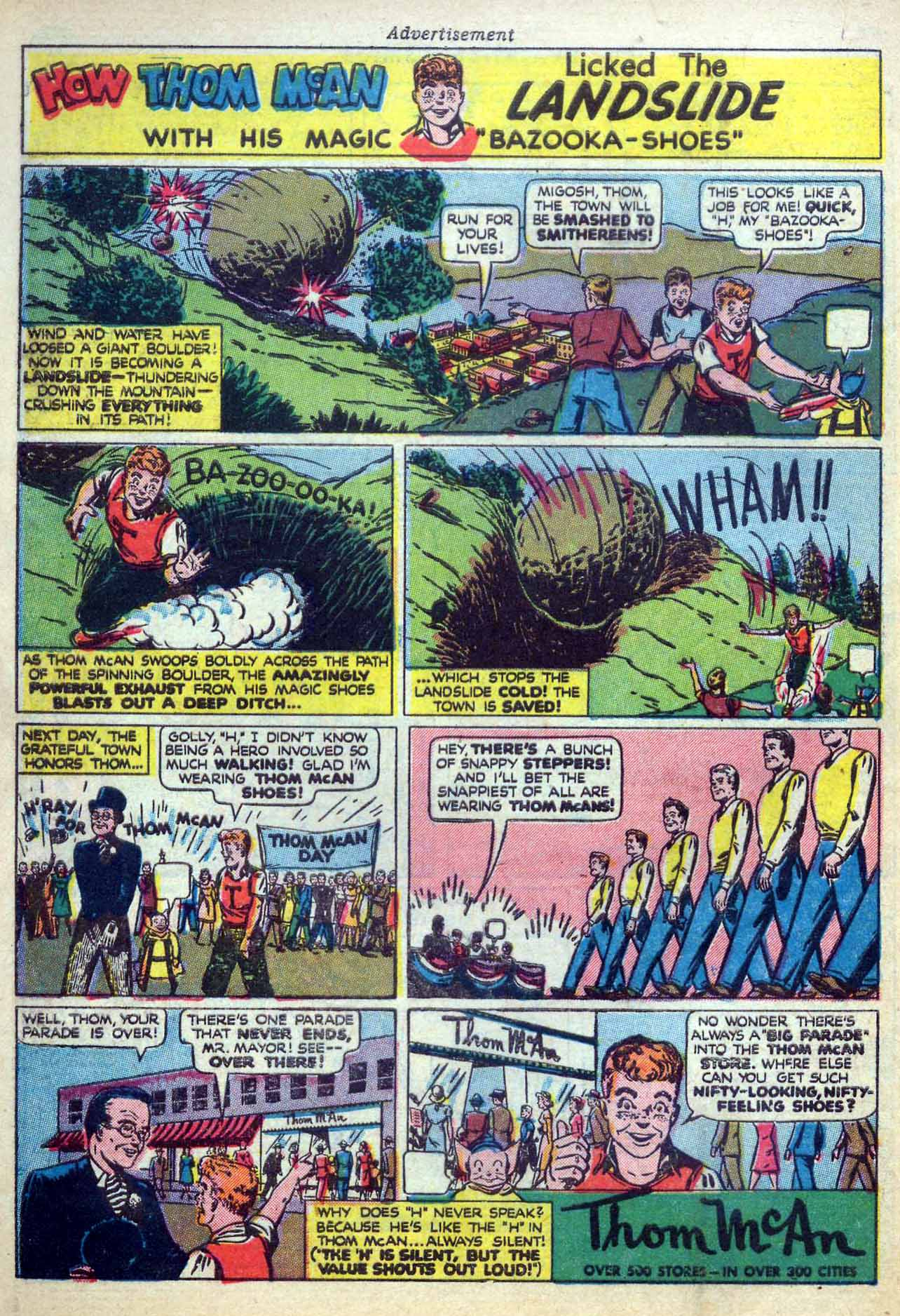 Read online Sensation (Mystery) Comics comic -  Issue #59 - 50