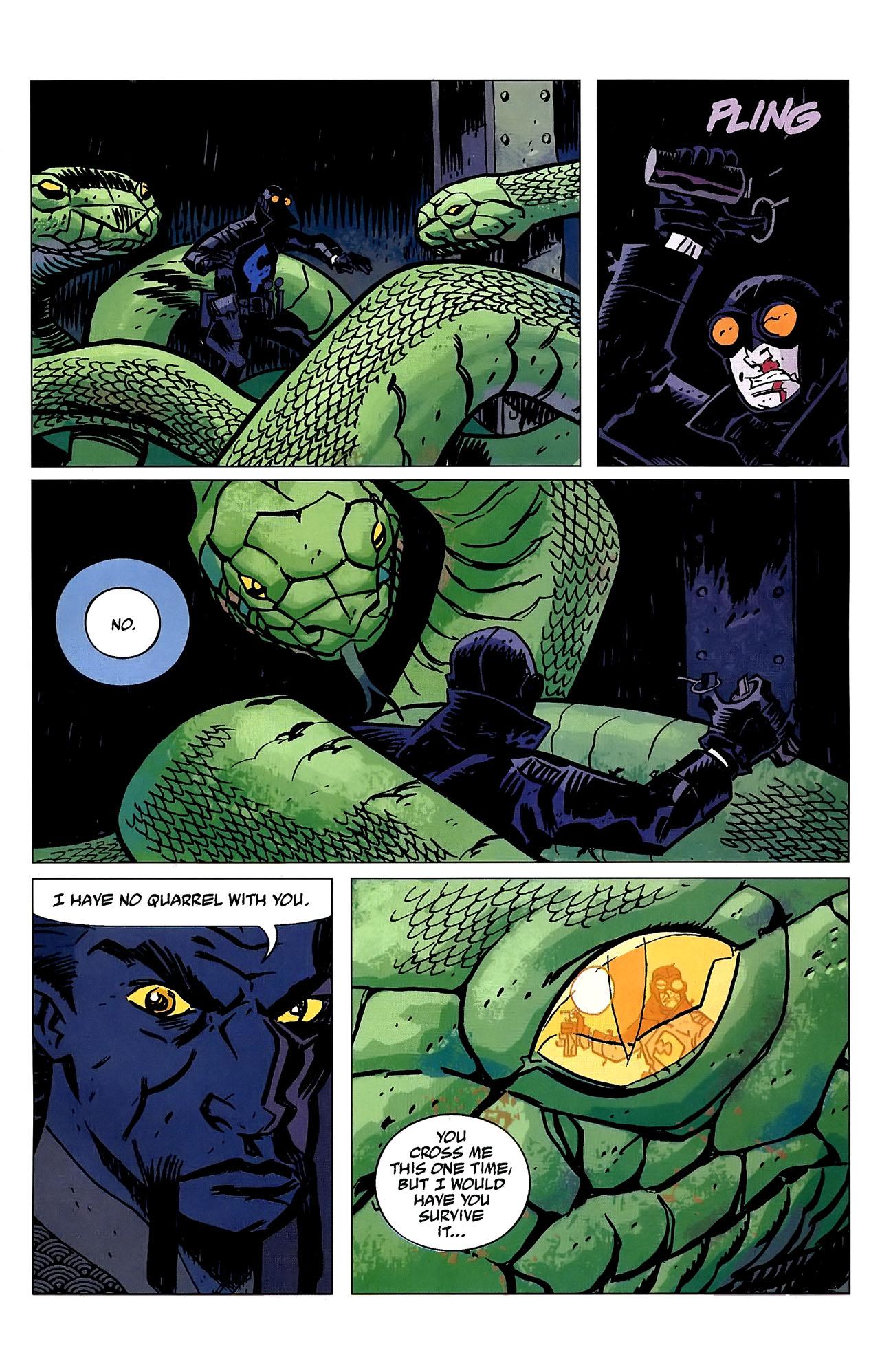 Read online Lobster Johnson: The Iron Prometheus comic -  Issue #2 - 20