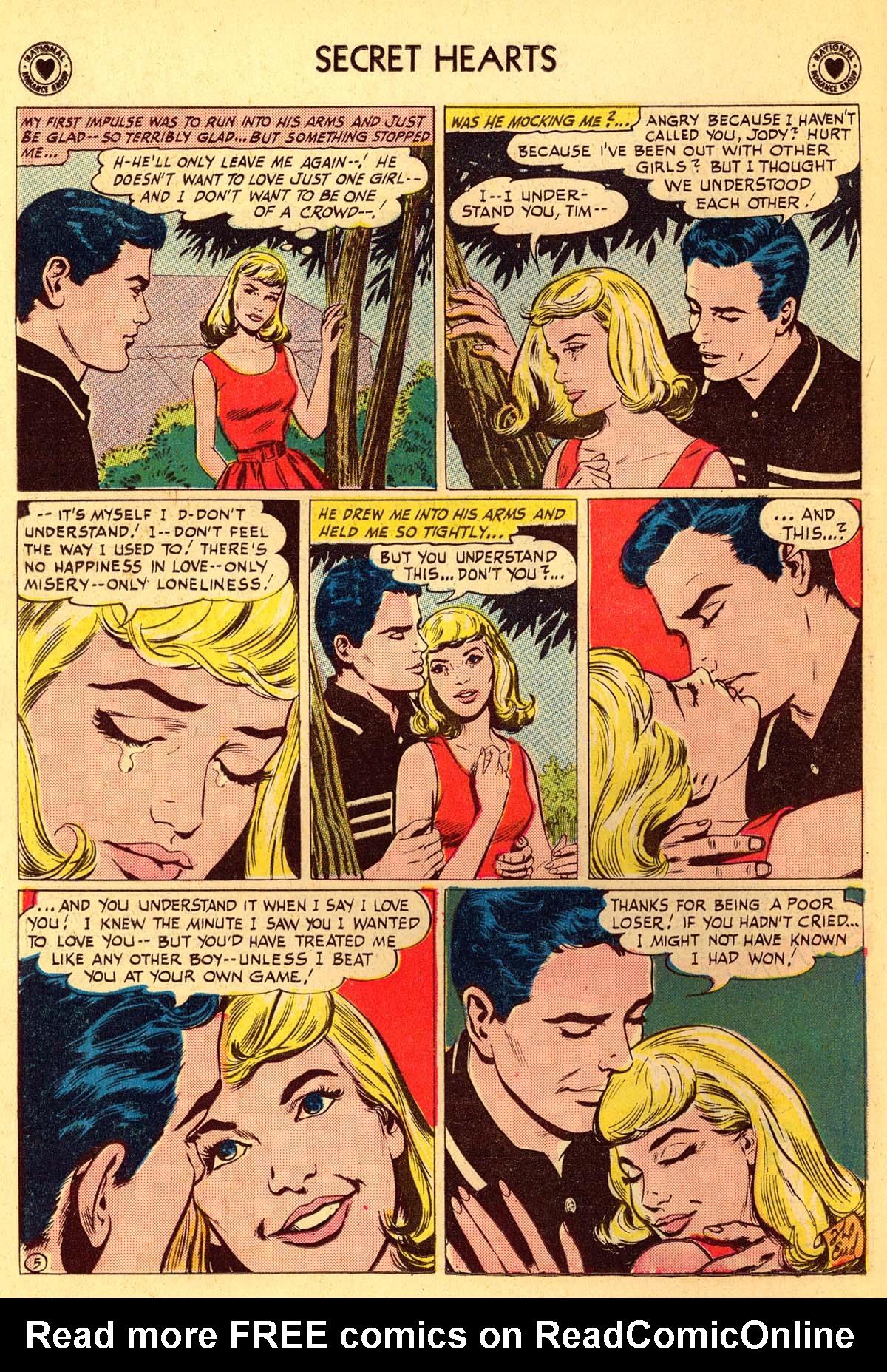 Read online Secret Hearts comic -  Issue #66 - 18