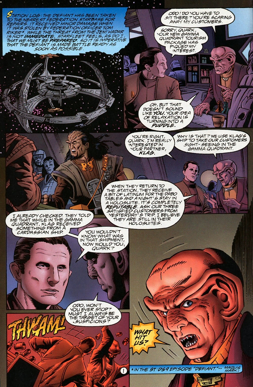 Read online Star Trek: Deep Space Nine (1993) comic -  Issue # _Special 1 - 4