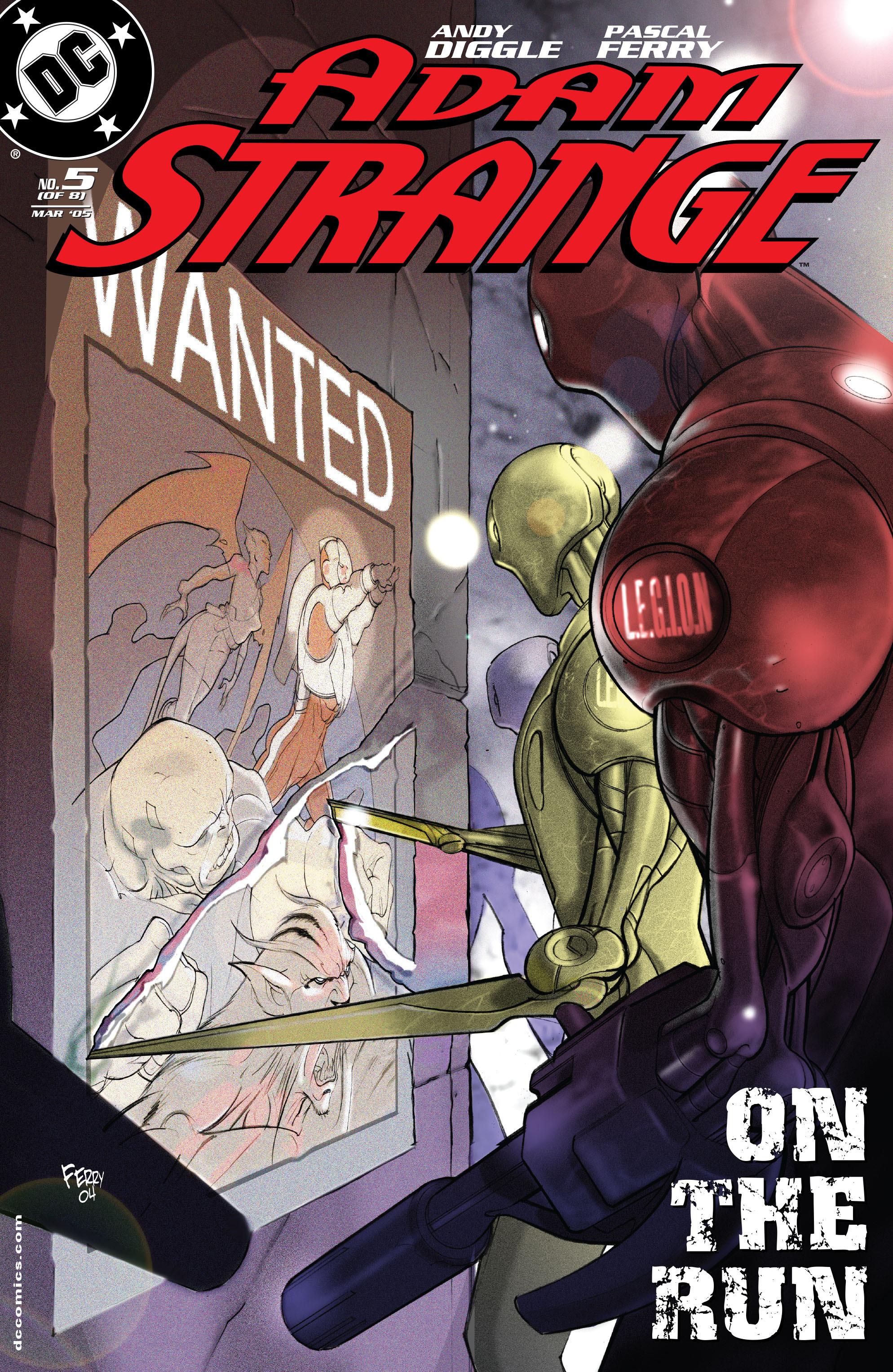 Read online Adam Strange (2004) comic -  Issue #5 - 1