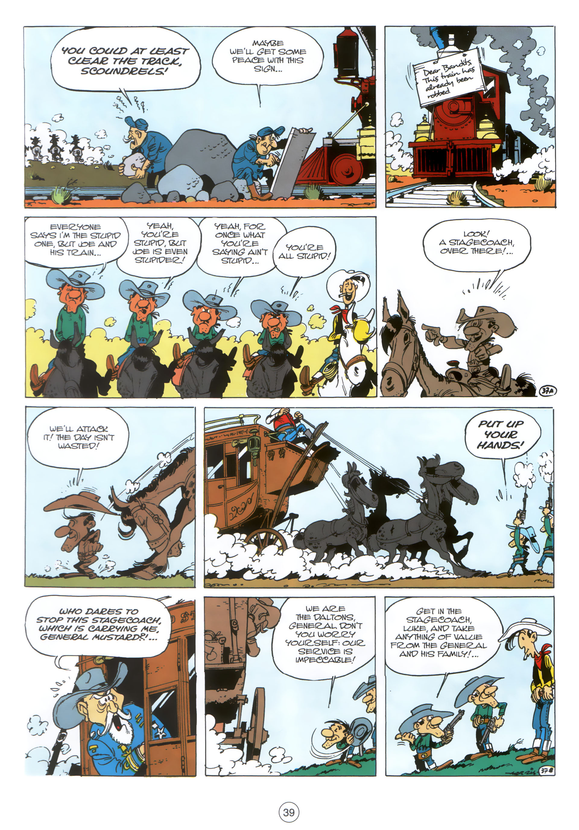 Read online A Lucky Luke Adventure comic -  Issue #30 - 38