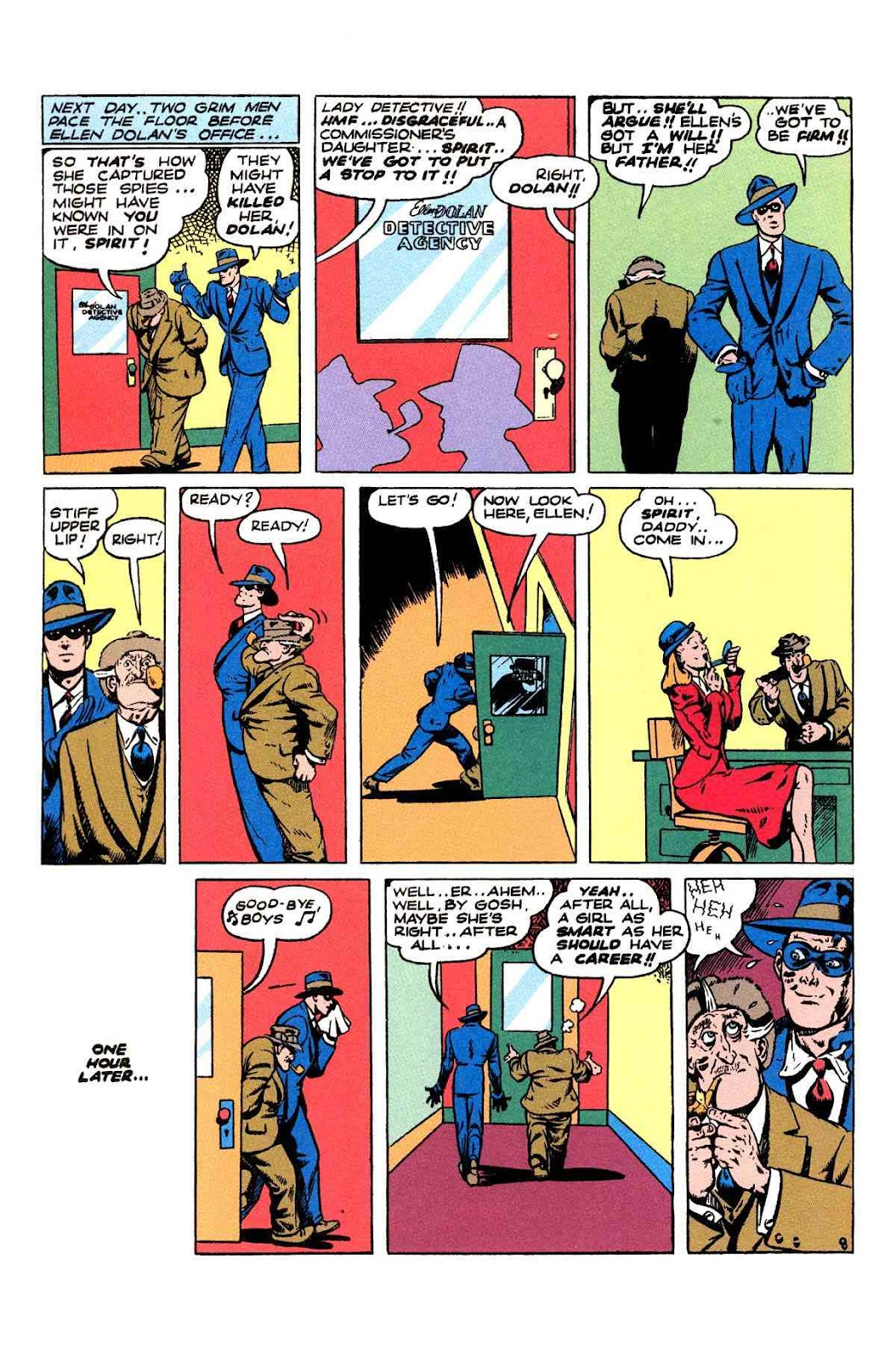 Read online Will Eisner's The Spirit Archives comic -  Issue # TPB 2 (Part 2) - 36