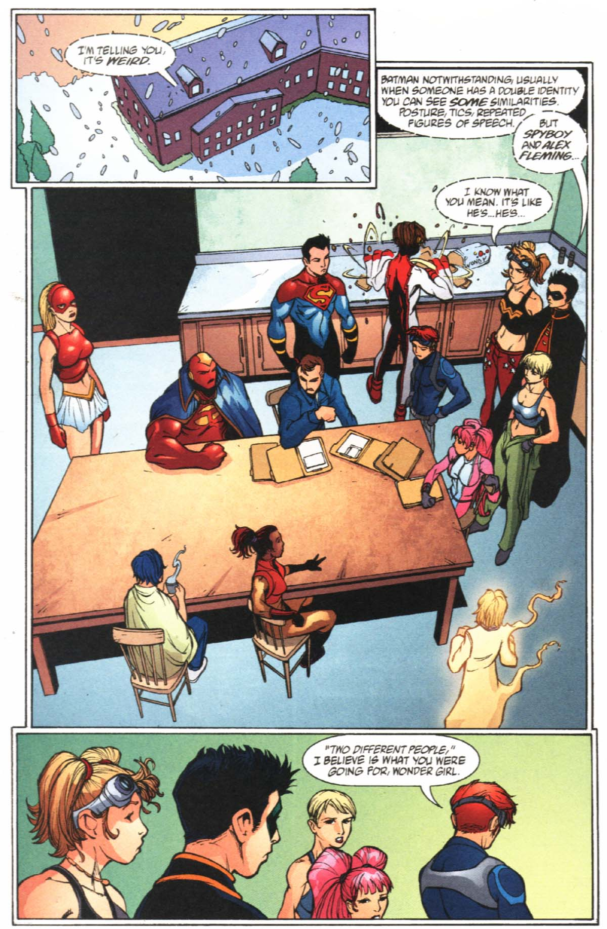 Read online SpyBoy/Young Justice comic -  Issue #2 - 17