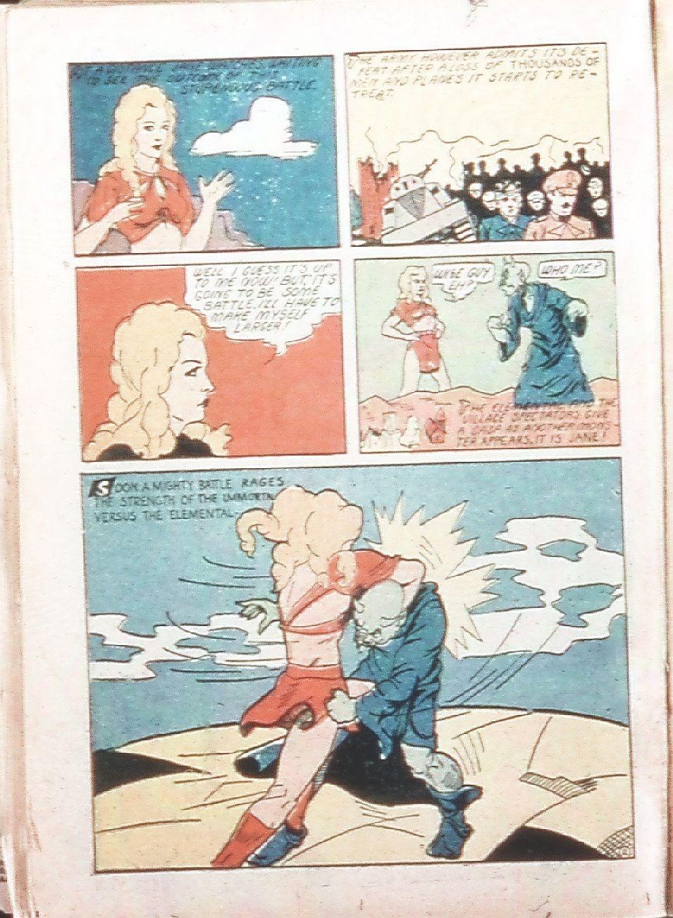 Read online Amazing Man Comics comic -  Issue #9 - 33
