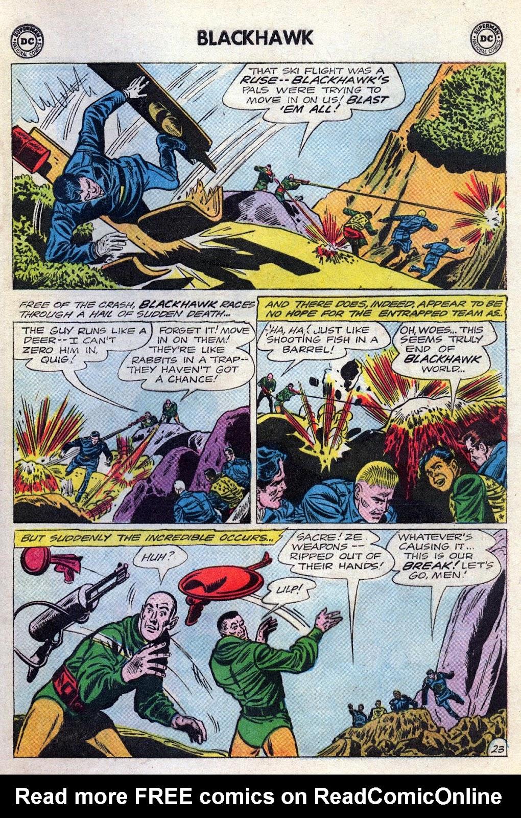 Blackhawk (1957) Issue #189 #82 - English 29