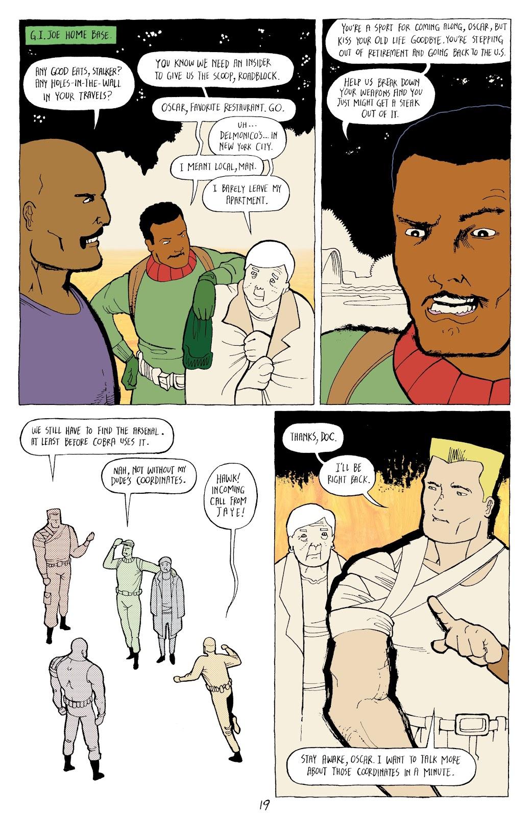 Read online G.I. Joe: Sierra Muerte comic -  Issue #2 - 21