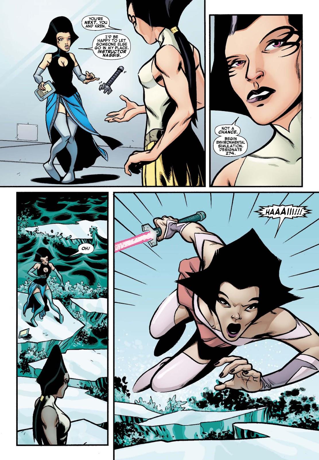 Read online War of Kings: Warriors - Lilandra comic -  Issue #1 - 5