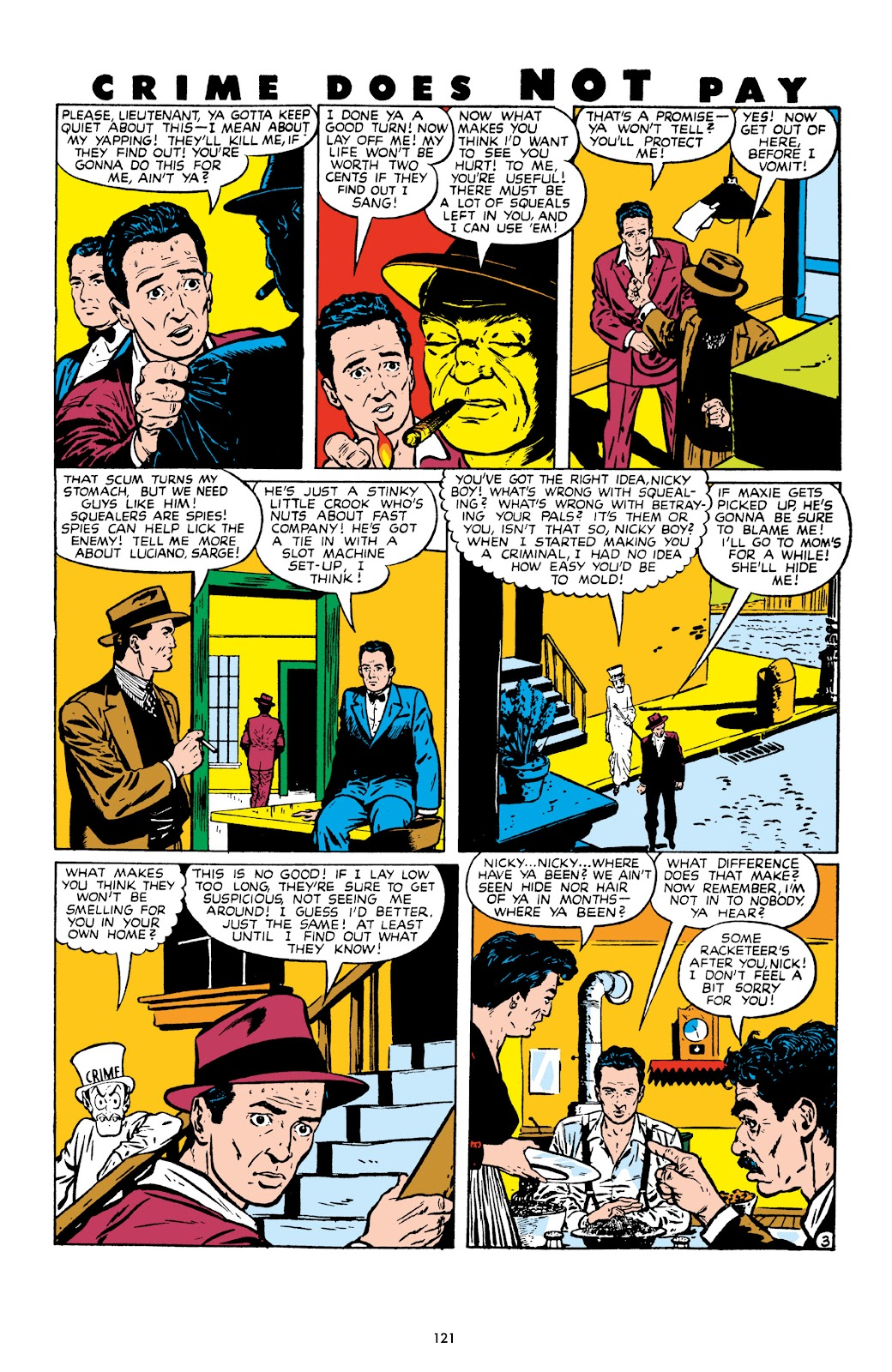 Read online Crime Does Not Pay Archives comic -  Issue # TPB 9 (Part 2) - 23