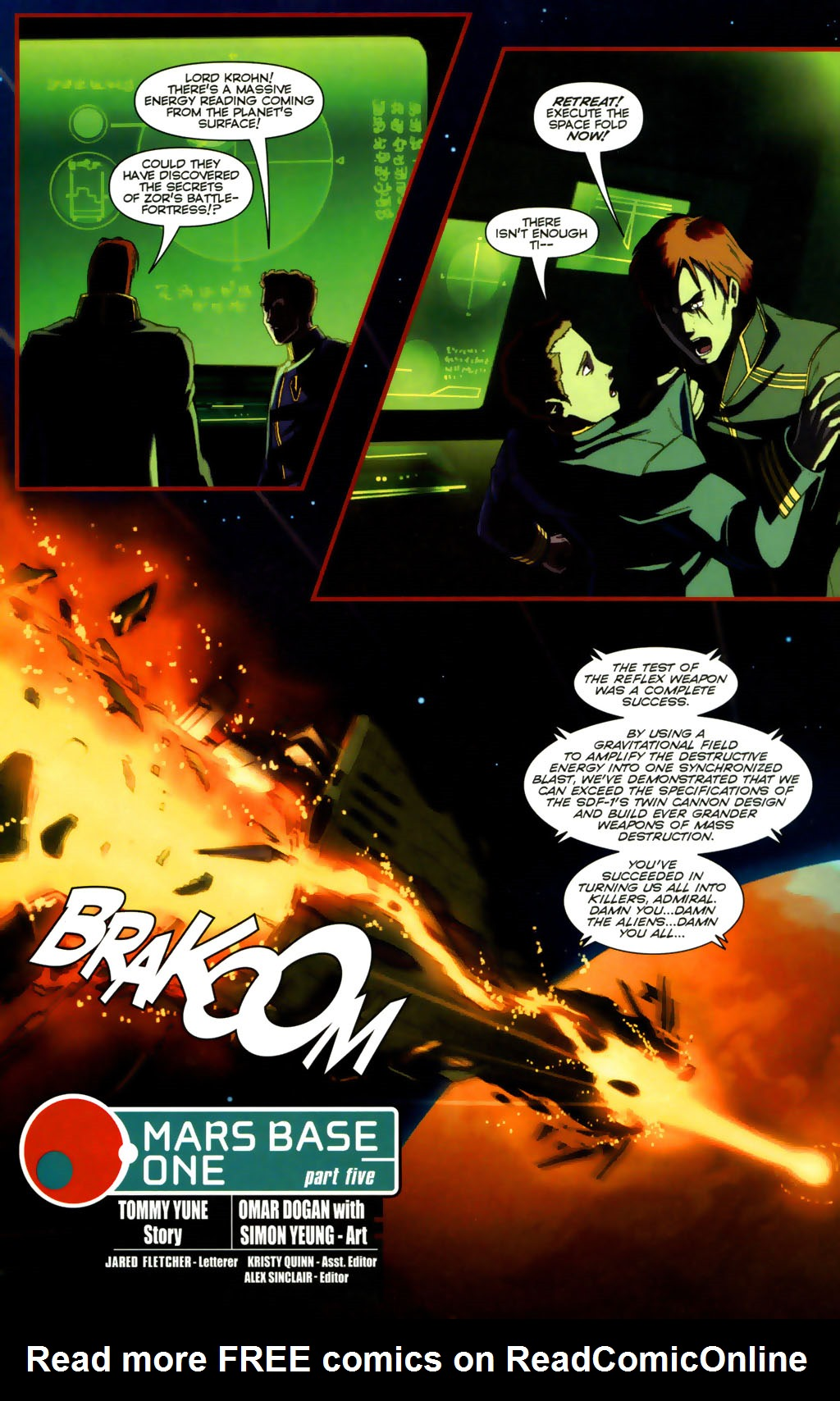 Read online Robotech: Invasion comic -  Issue #5 - 18