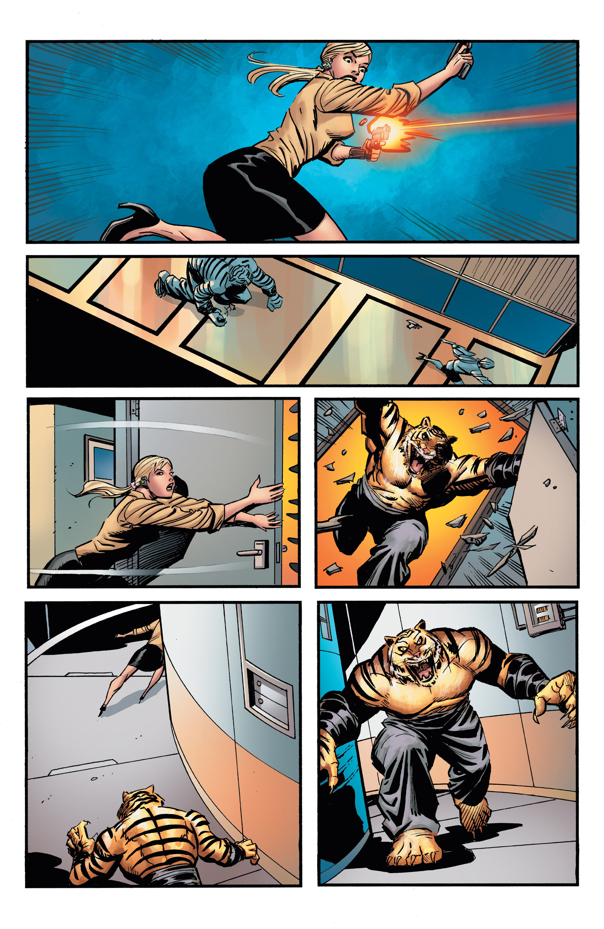 Read online Shadow Tiger comic -  Issue #4 - 11