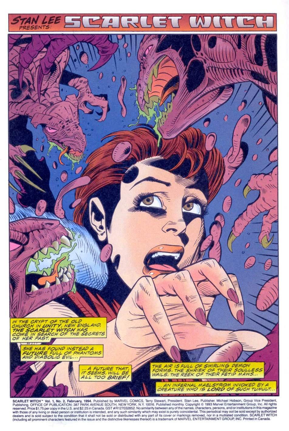 Scarlet Witch (1994) Issue #2 #2 - English 2