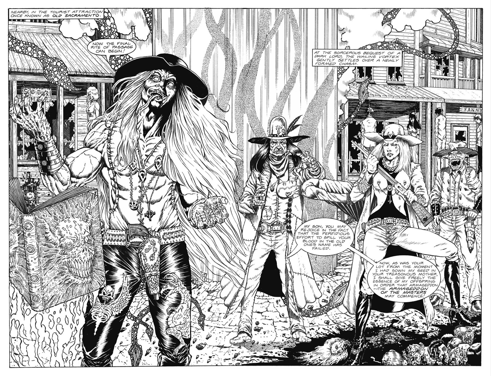 Read online Gunfighters in Hell comic -  Issue #5 - 26
