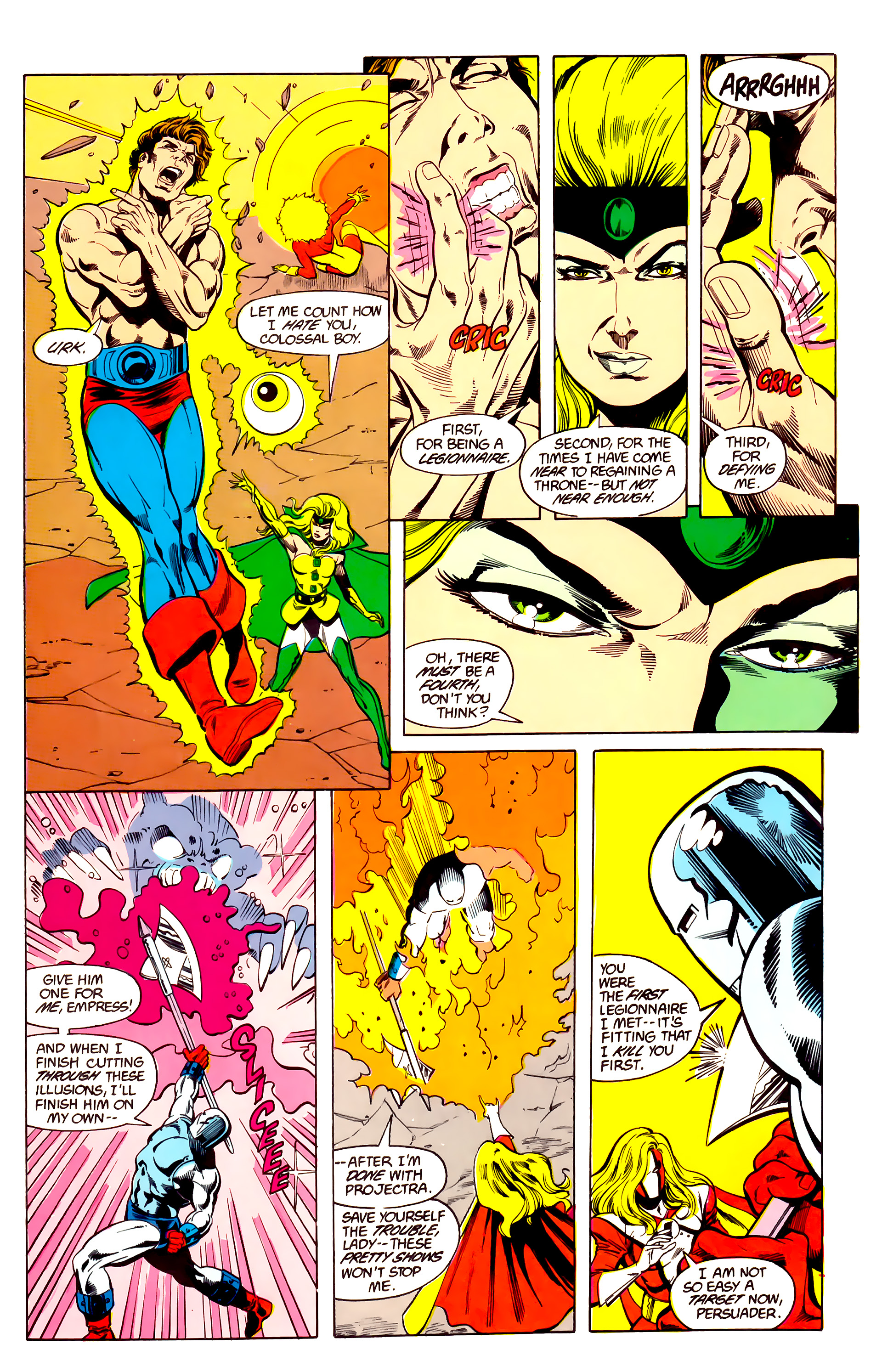 Legion of Super-Heroes (1984) 26 Page 21