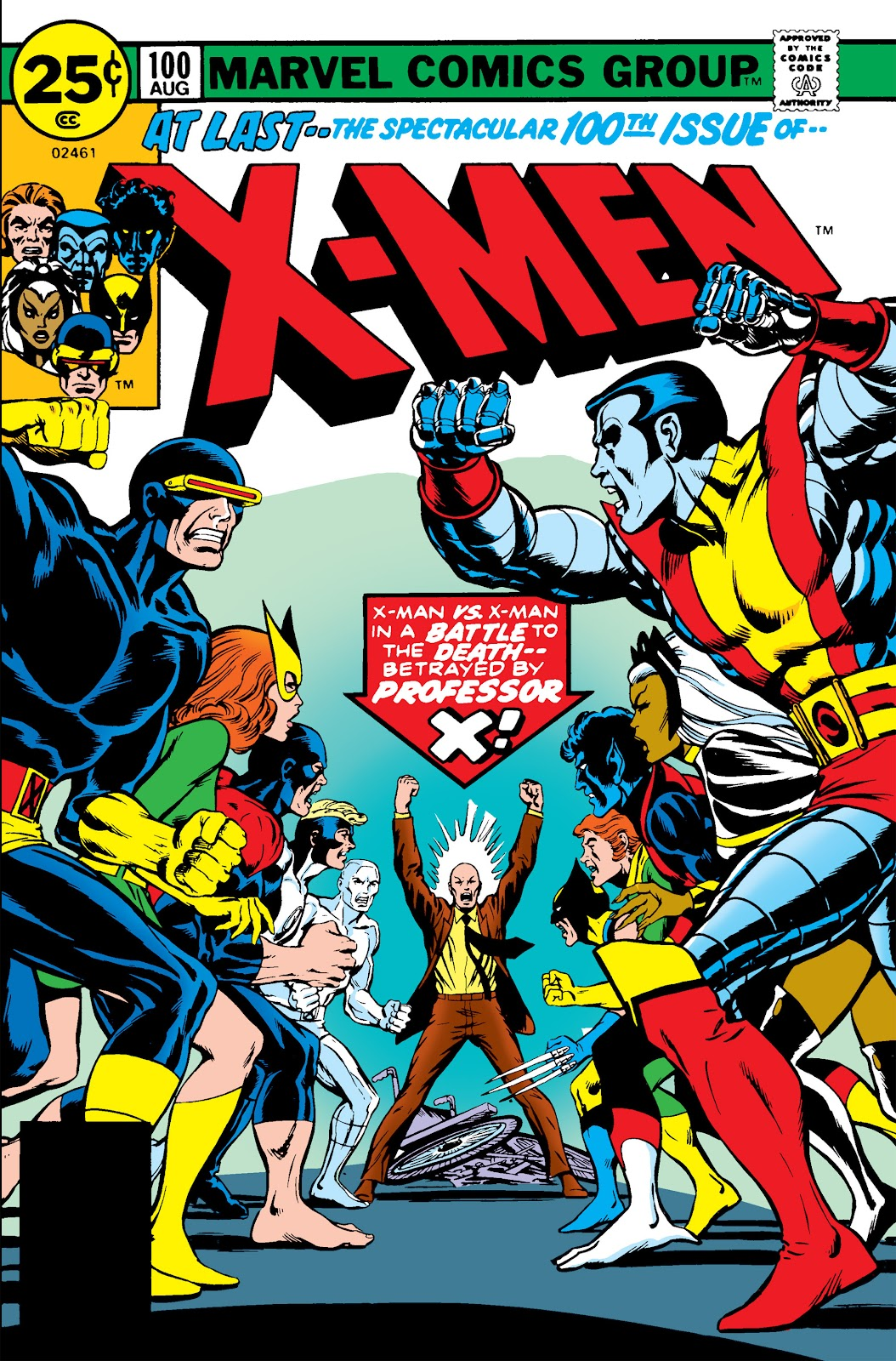 Uncanny X-Men (1963) issue 100 - Page 1