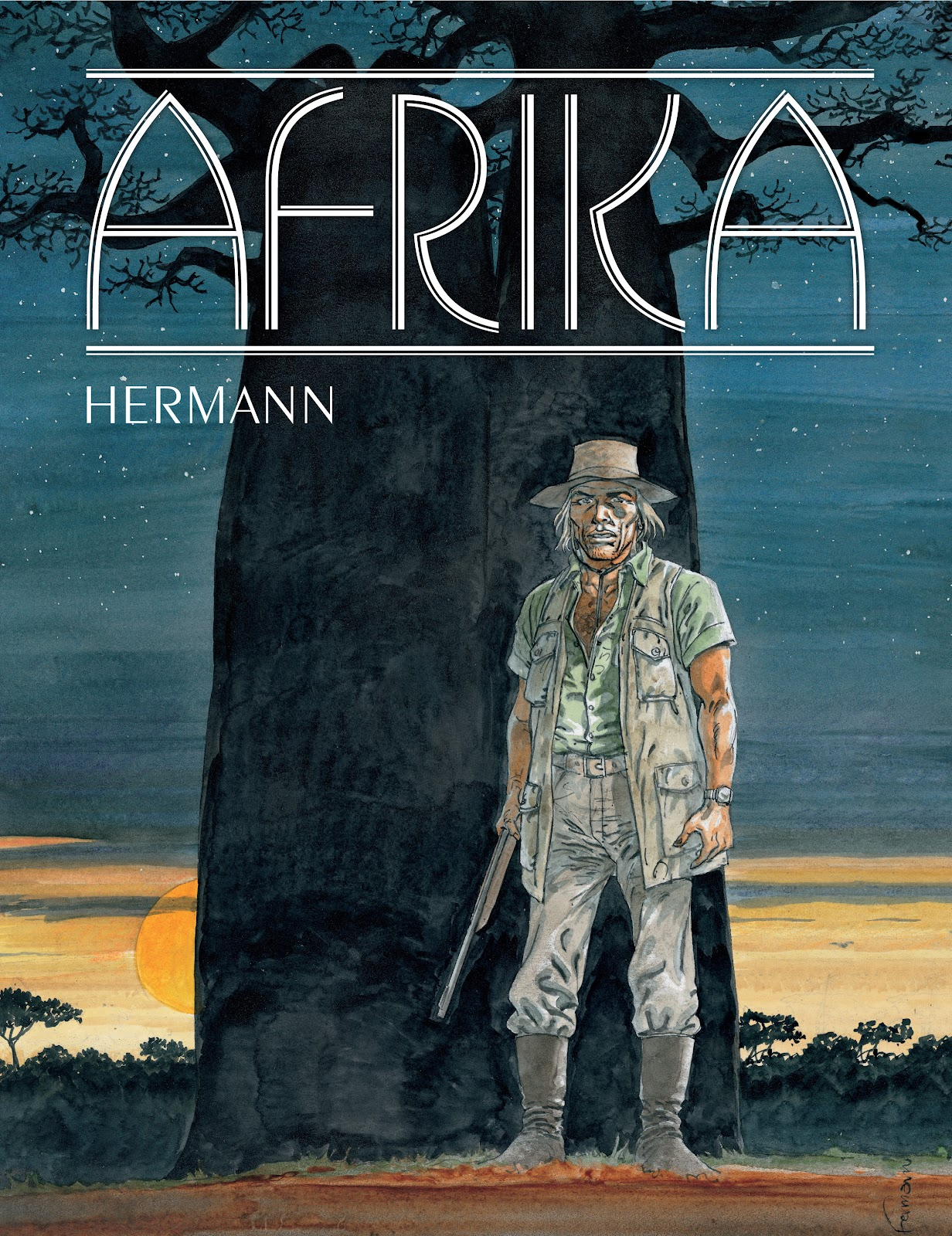 Read online Afrika comic -  Issue # TPB - 1